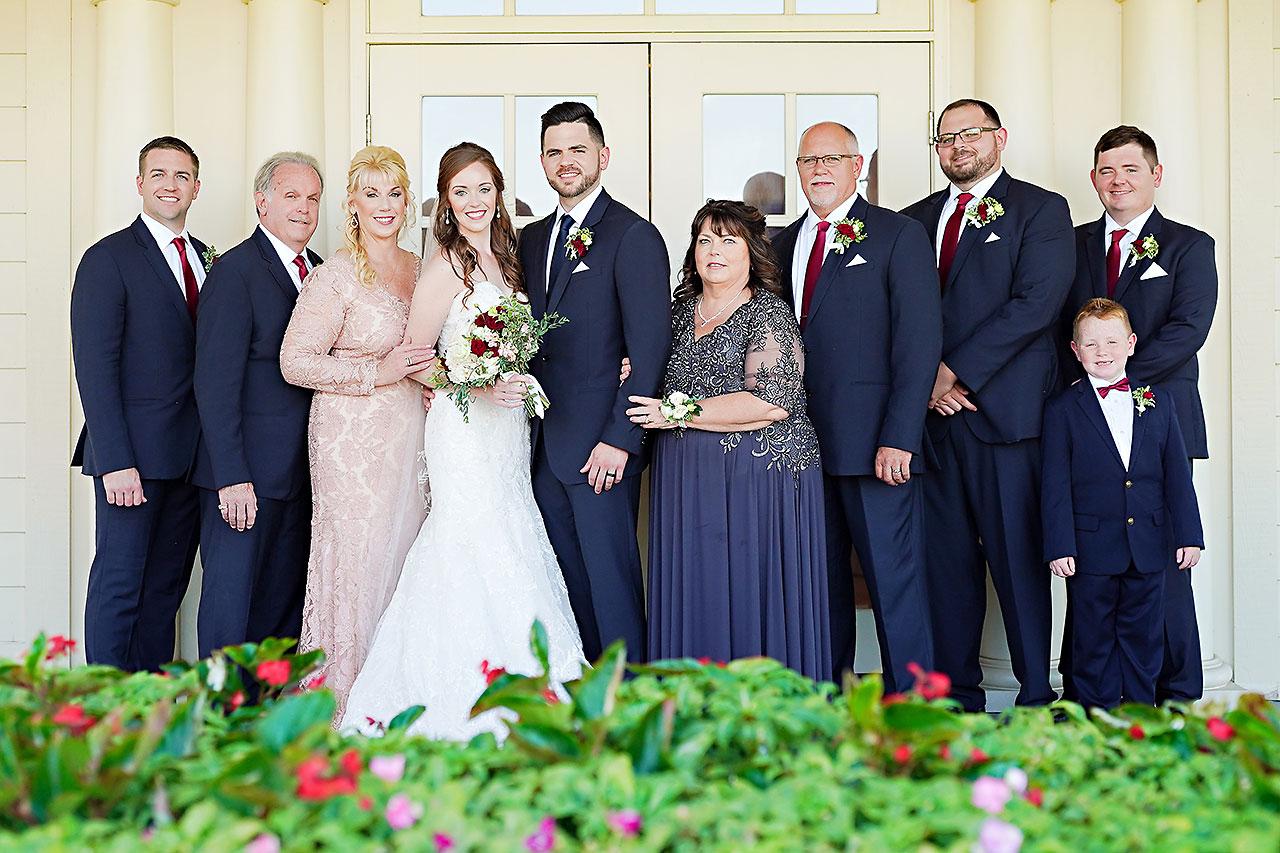Callie Josh Ritz Charles Garden Pavilion Carmel Indiana Wedding 152