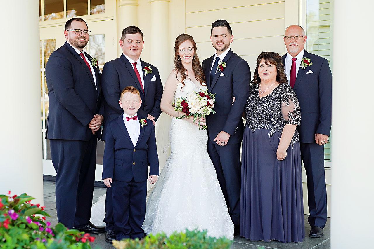 Callie Josh Ritz Charles Garden Pavilion Carmel Indiana Wedding 150