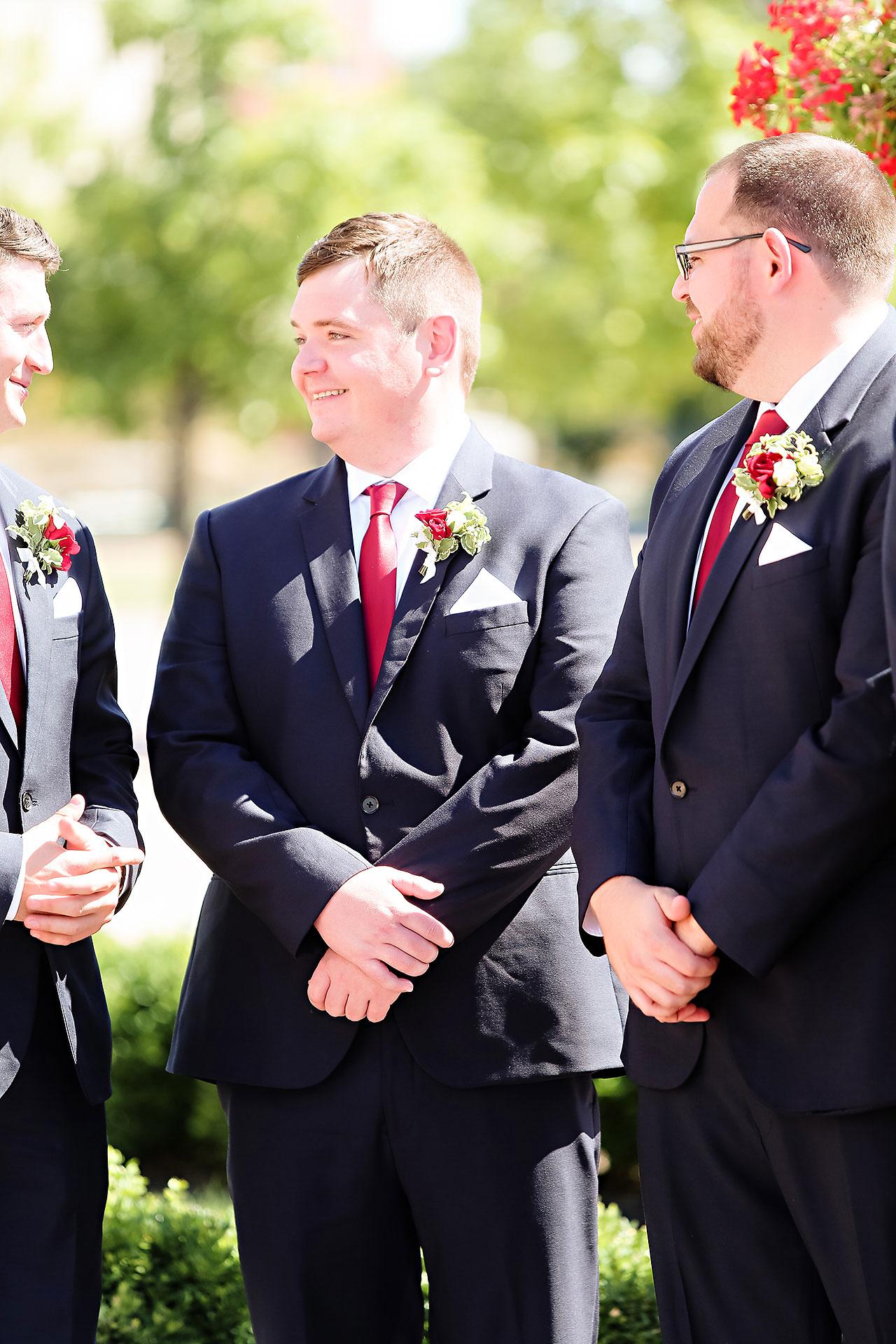 Callie Josh Ritz Charles Garden Pavilion Carmel Indiana Wedding 146