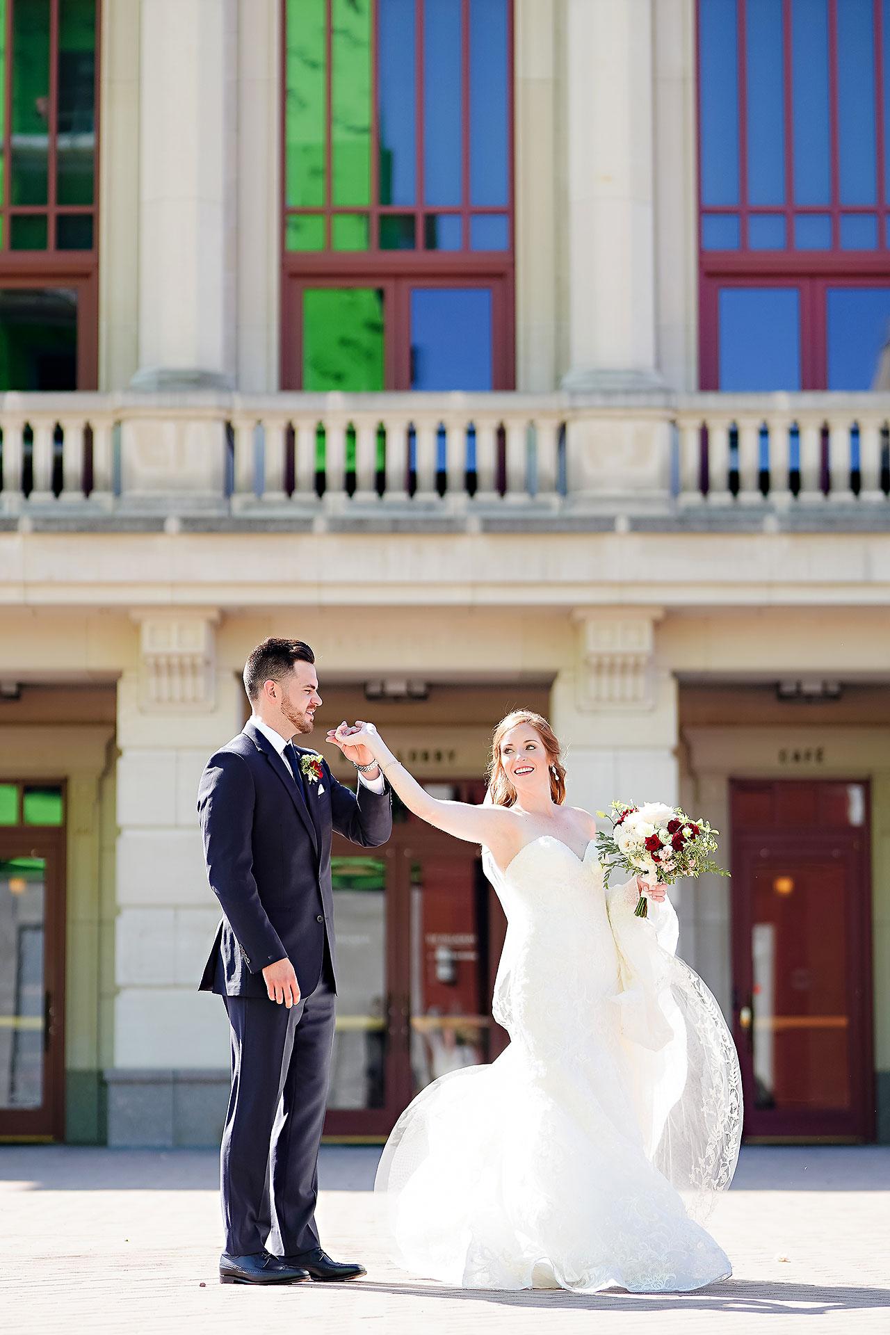 Callie Josh Ritz Charles Garden Pavilion Carmel Indiana Wedding 142