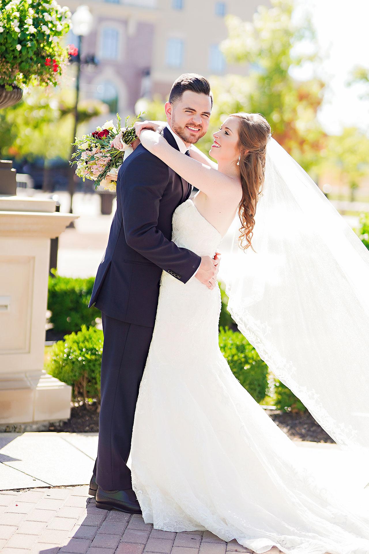 Callie Josh Ritz Charles Garden Pavilion Carmel Indiana Wedding 143