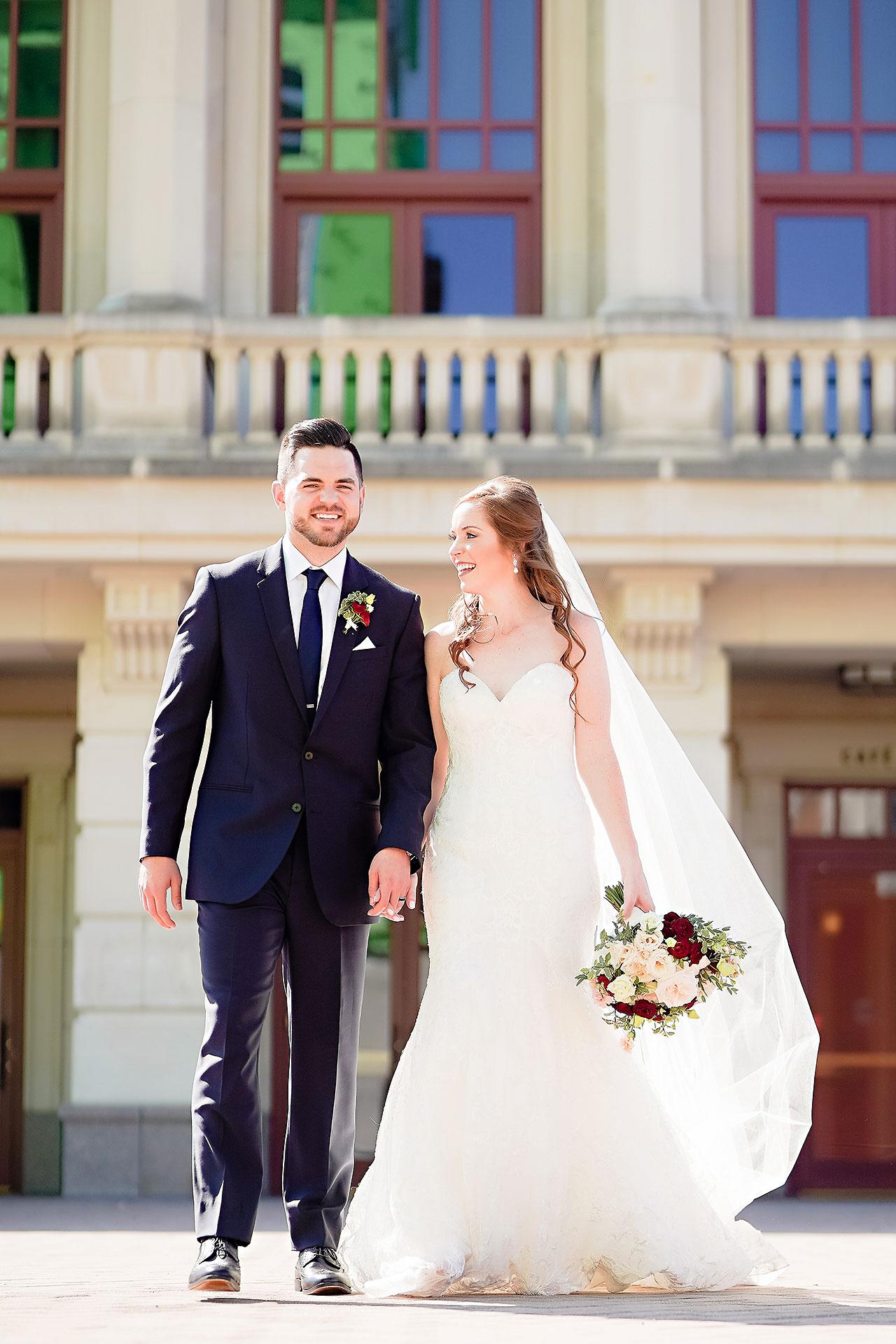 Callie Josh Ritz Charles Garden Pavilion Carmel Indiana Wedding 135