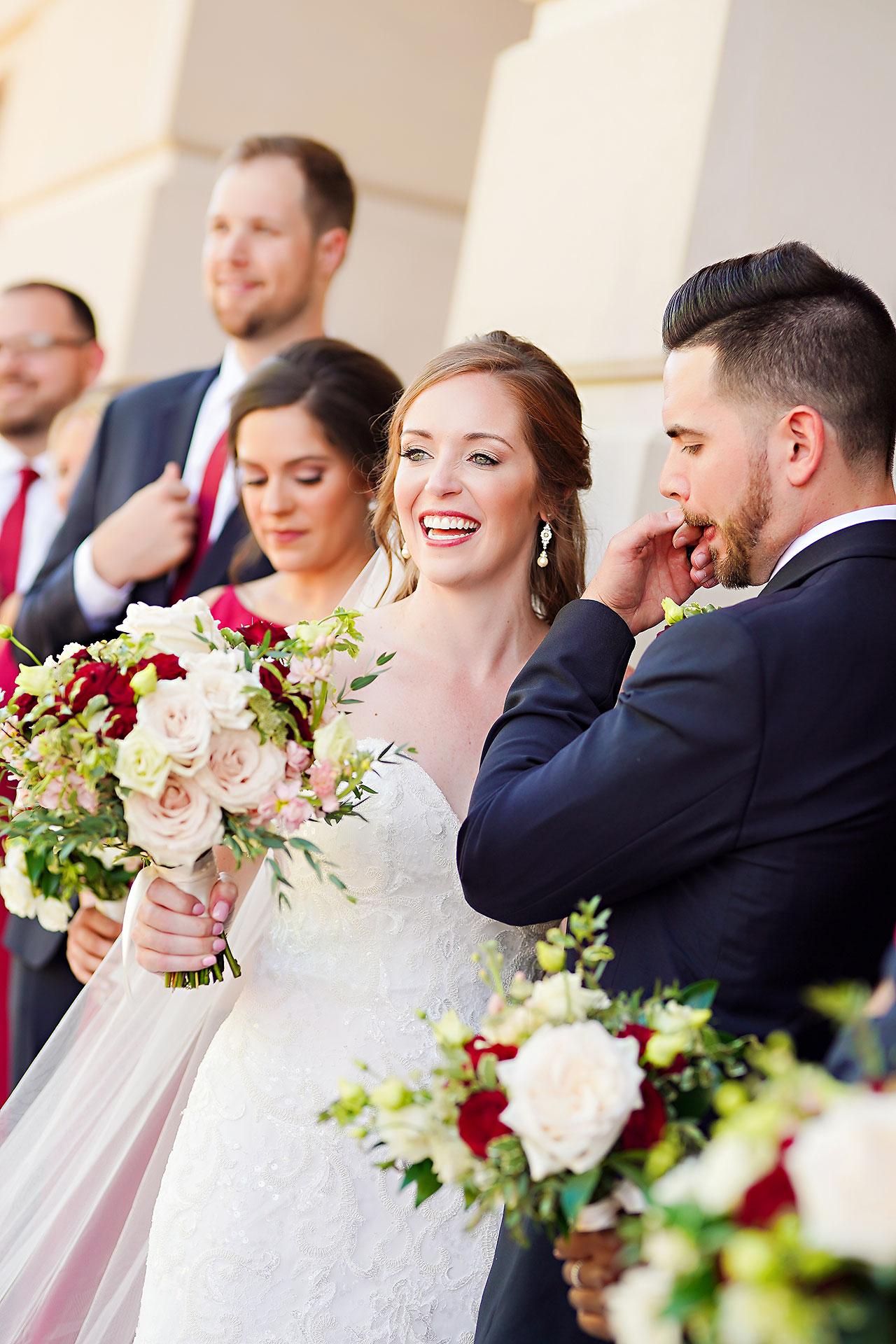 Callie Josh Ritz Charles Garden Pavilion Carmel Indiana Wedding 130