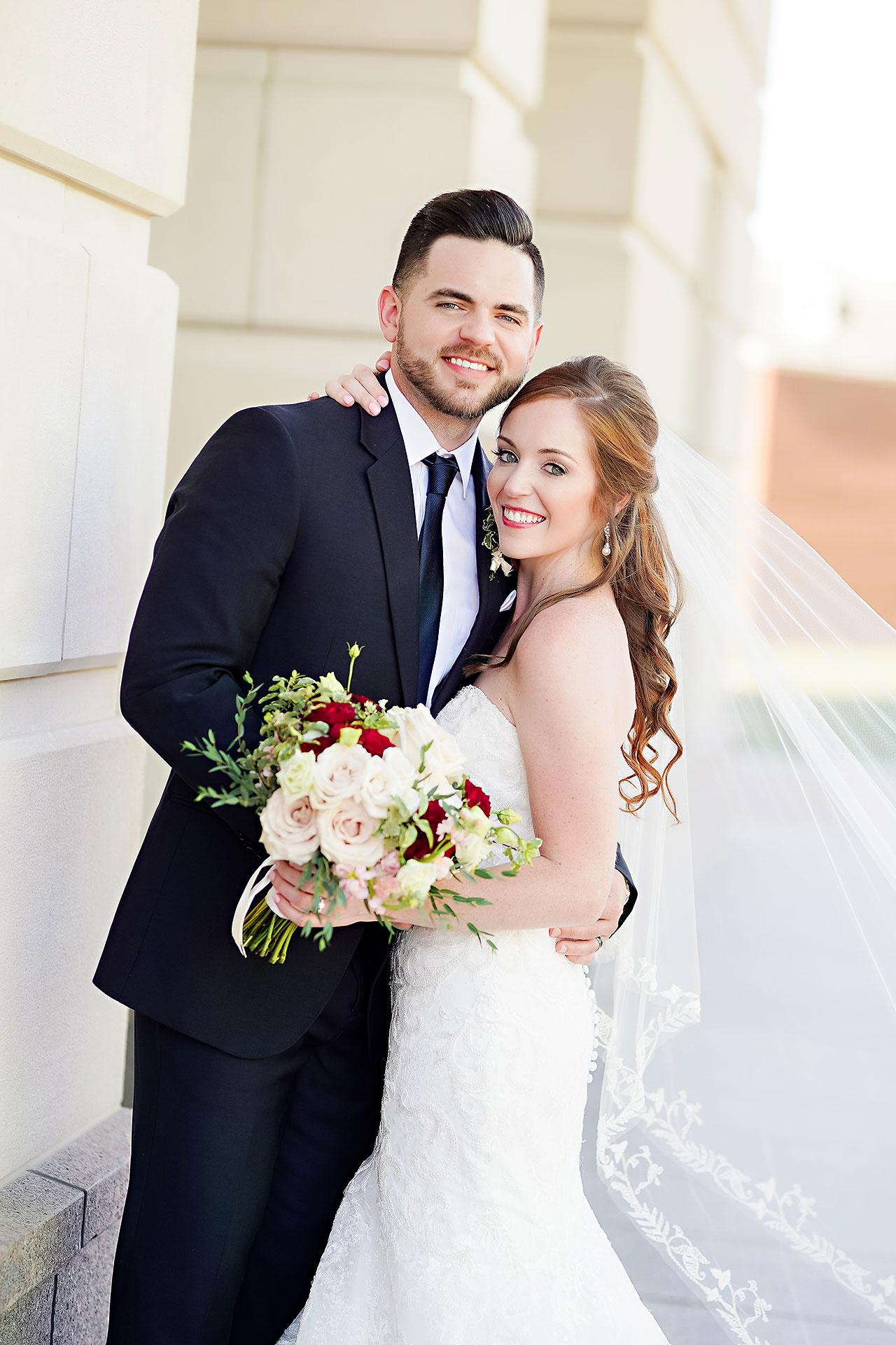 Callie Josh Ritz Charles Garden Pavilion Carmel Indiana Wedding 123