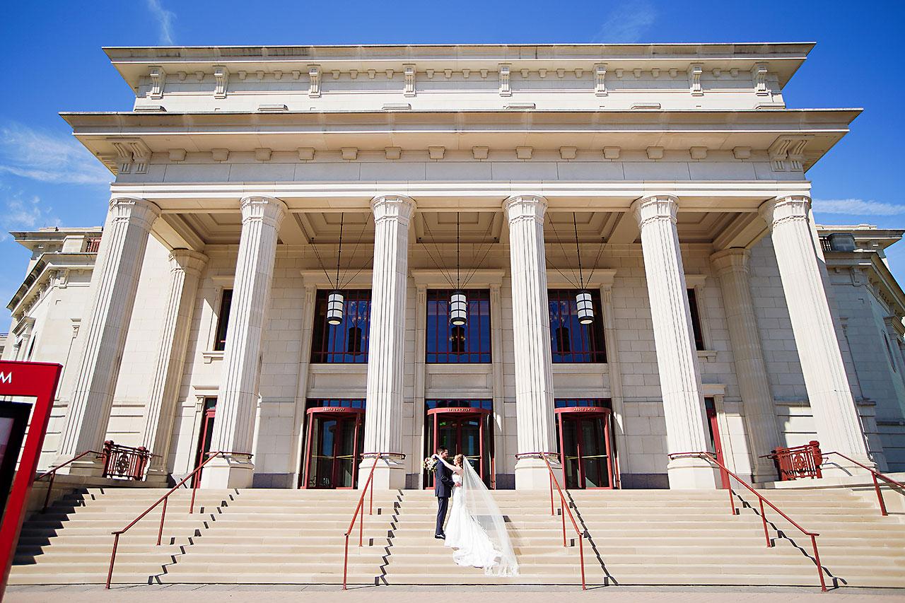 Callie Josh Ritz Charles Garden Pavilion Carmel Indiana Wedding 118