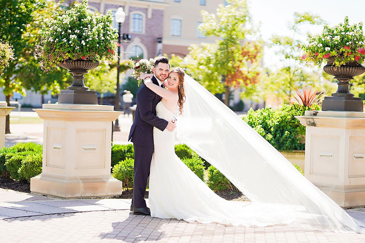 Callie Josh Ritz Charles Garden Pavilion Carmel Indiana Wedding 117
