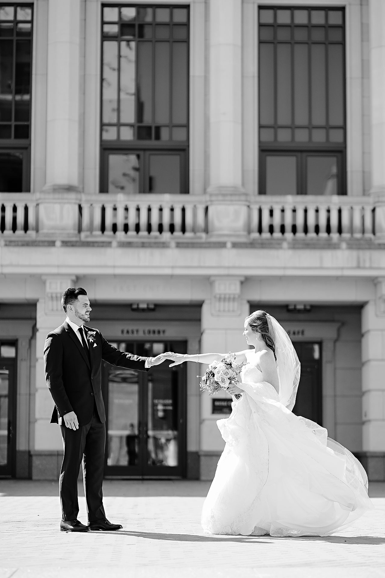 Callie Josh Ritz Charles Garden Pavilion Carmel Indiana Wedding 106