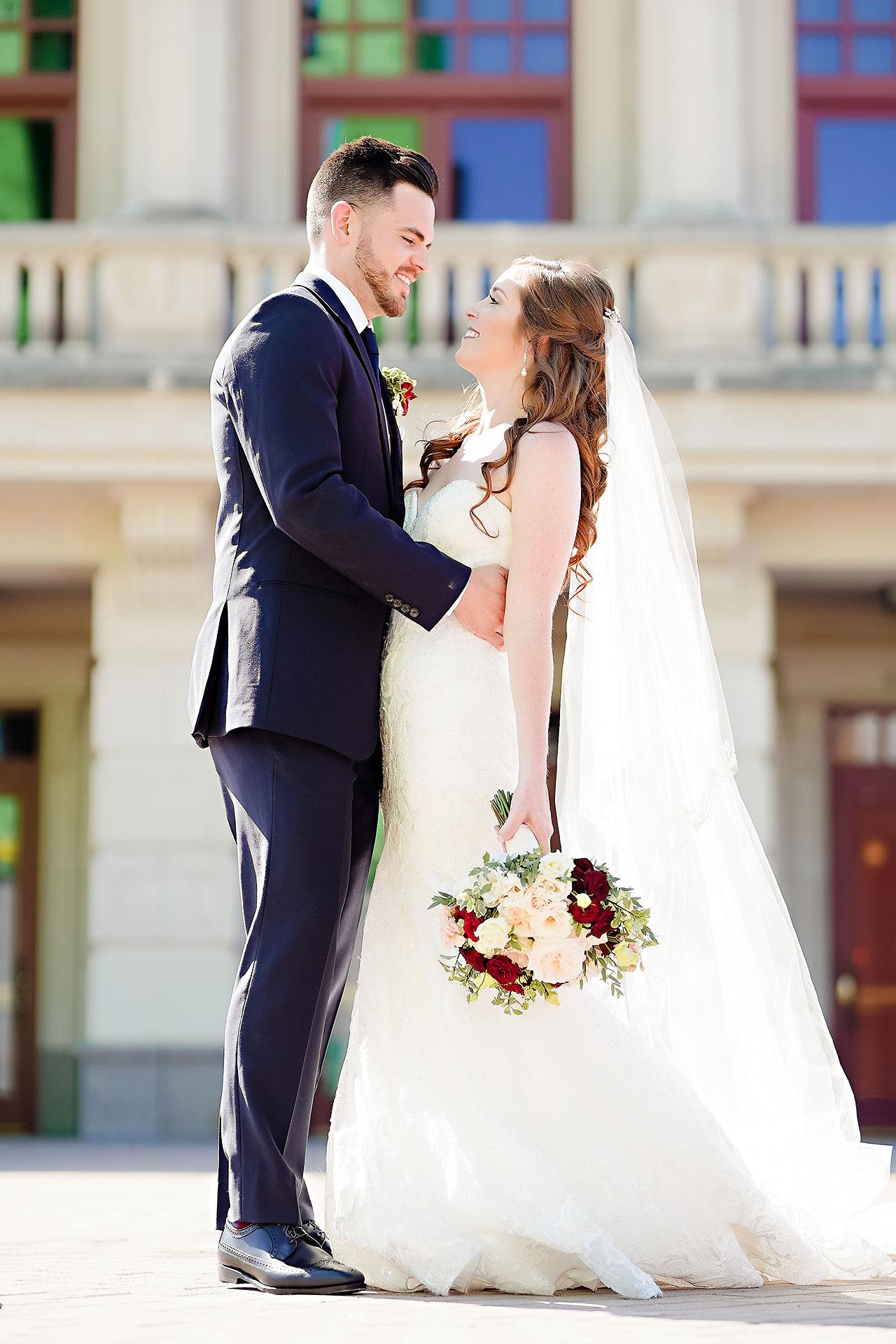 Callie Josh Ritz Charles Garden Pavilion Carmel Indiana Wedding 104