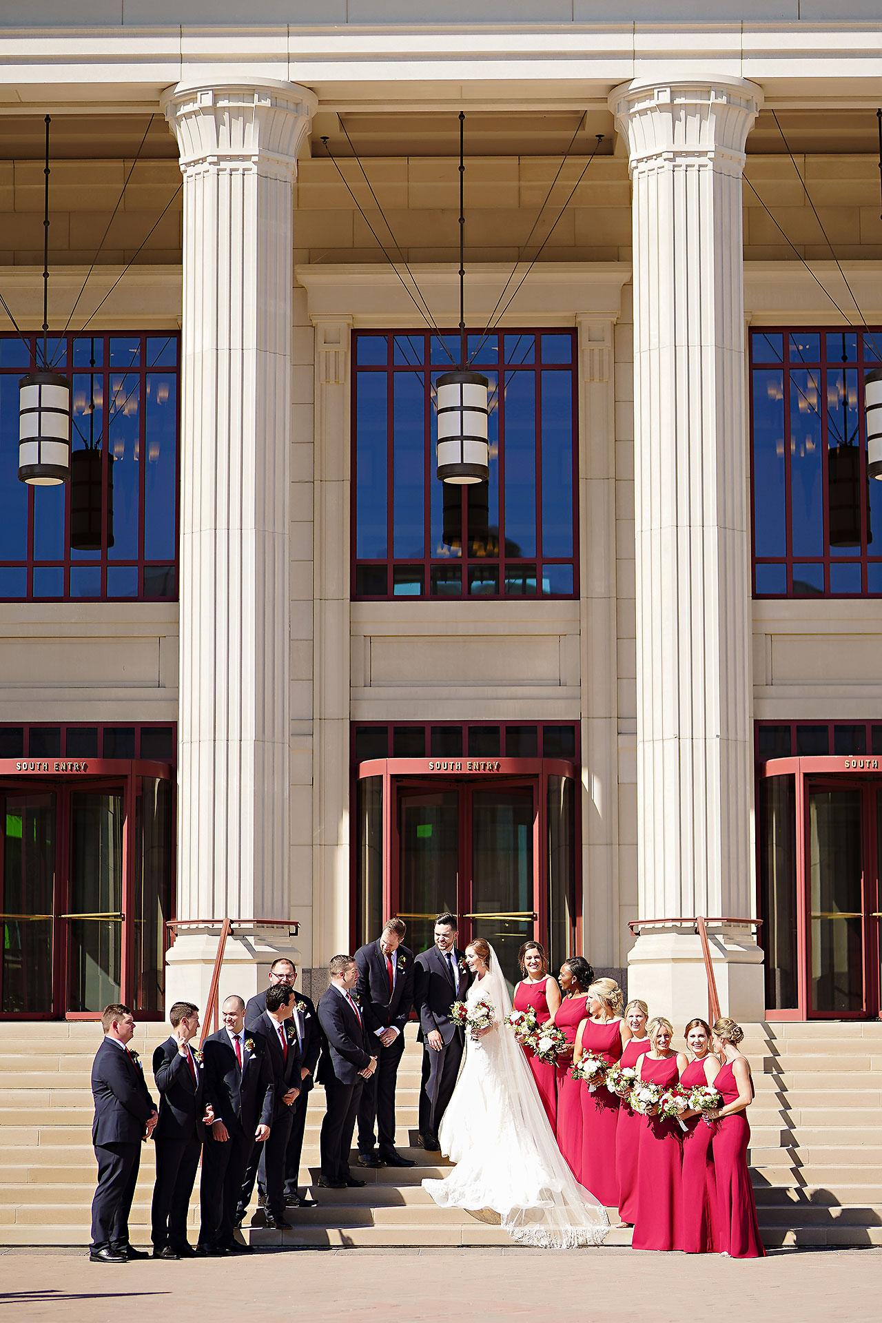 Callie Josh Ritz Charles Garden Pavilion Carmel Indiana Wedding 100