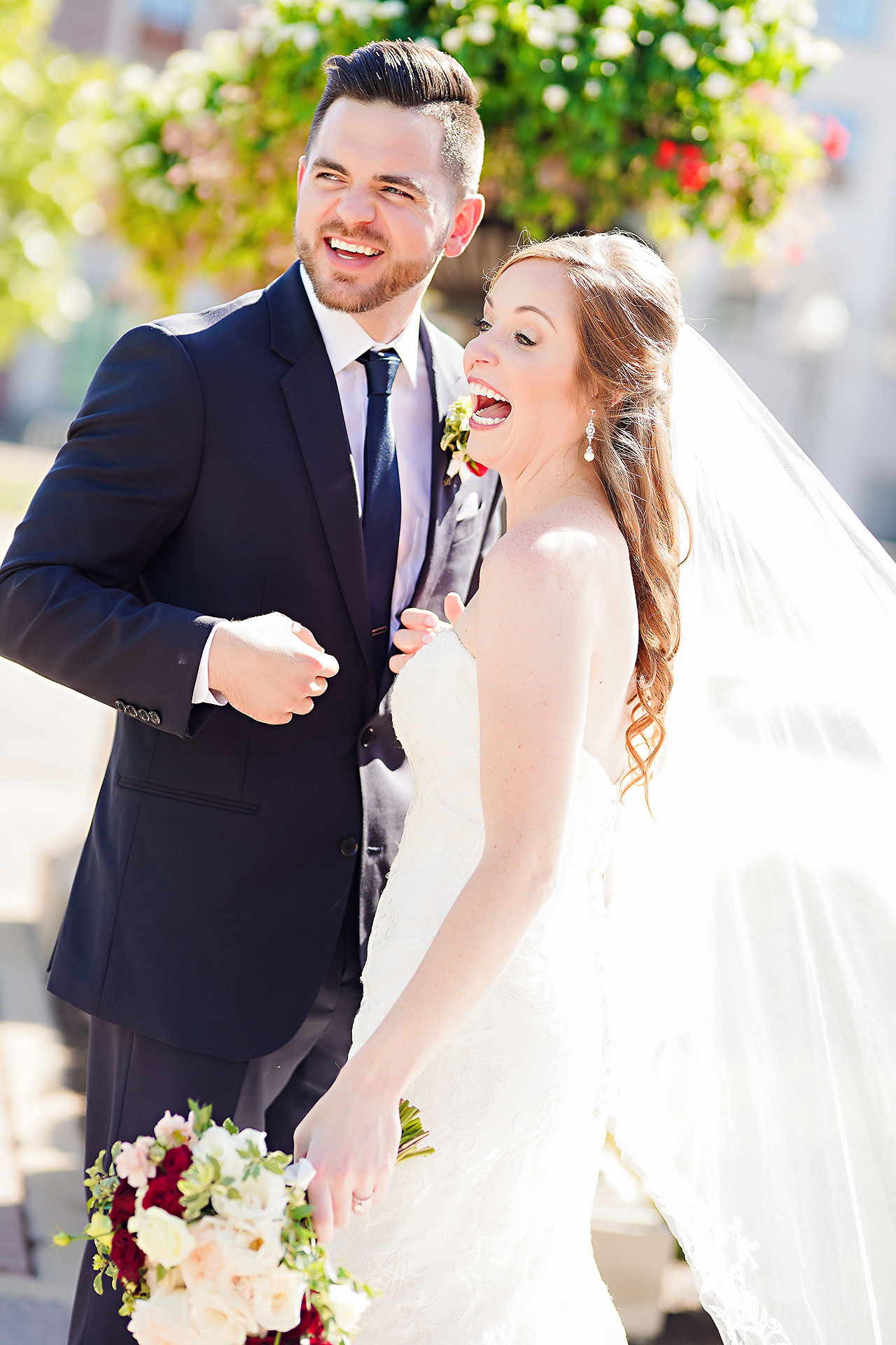 Callie Josh Ritz Charles Garden Pavilion Carmel Indiana Wedding 099