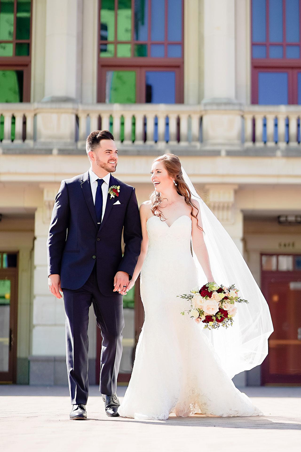 Callie Josh Ritz Charles Garden Pavilion Carmel Indiana Wedding 093