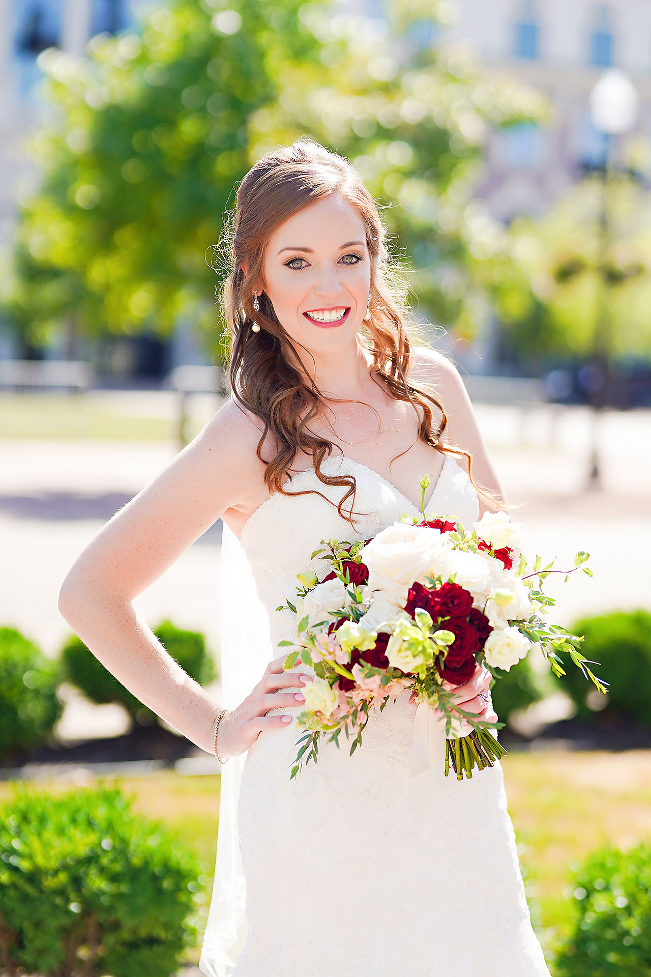 Callie Josh Ritz Charles Garden Pavilion Carmel Indiana Wedding 090
