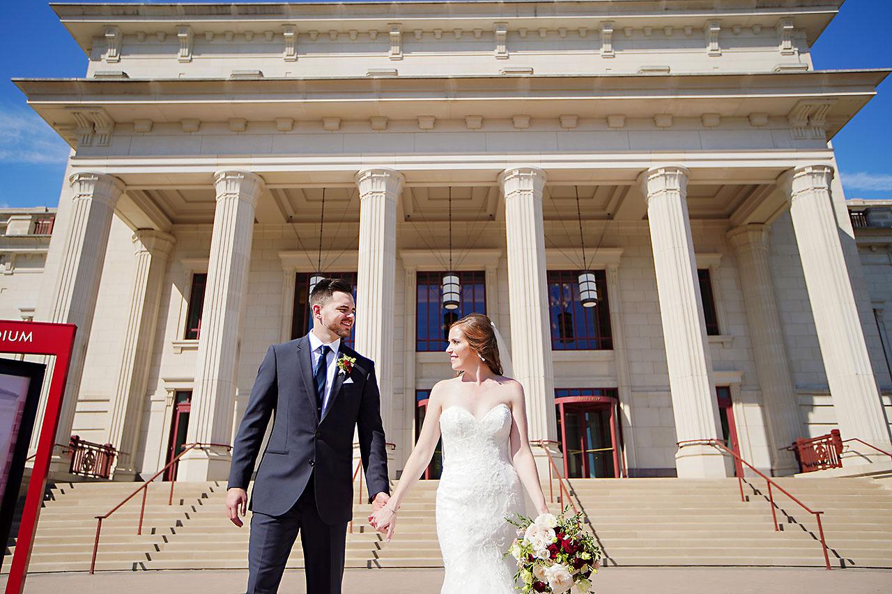Callie Josh Ritz Charles Garden Pavilion Carmel Indiana Wedding 083