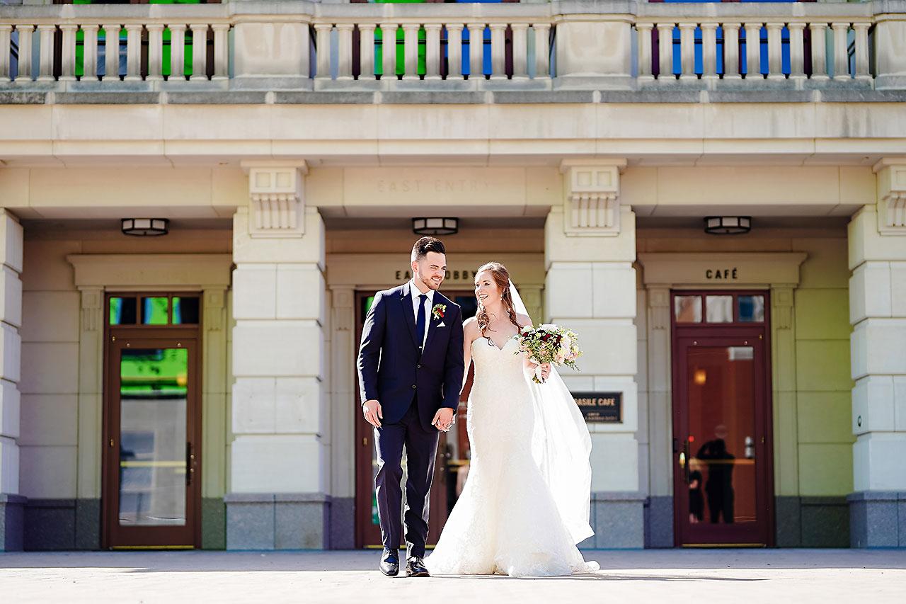 Callie Josh Ritz Charles Garden Pavilion Carmel Indiana Wedding 081
