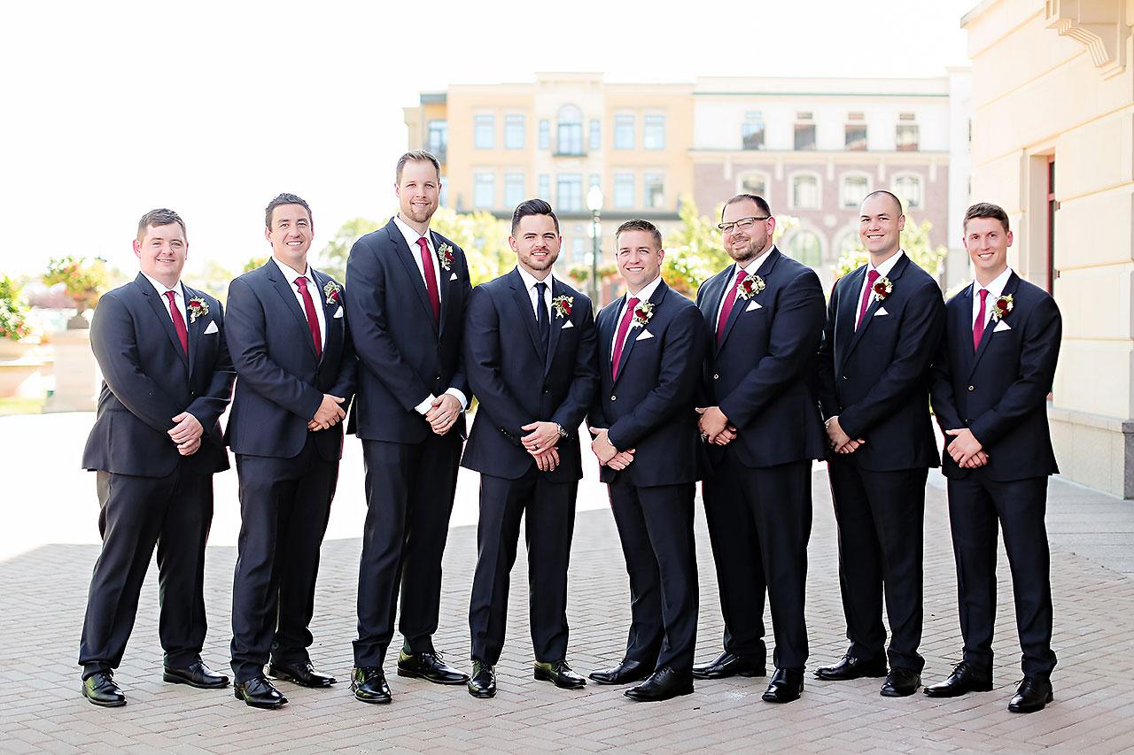 Callie Josh Ritz Charles Garden Pavilion Carmel Indiana Wedding 082