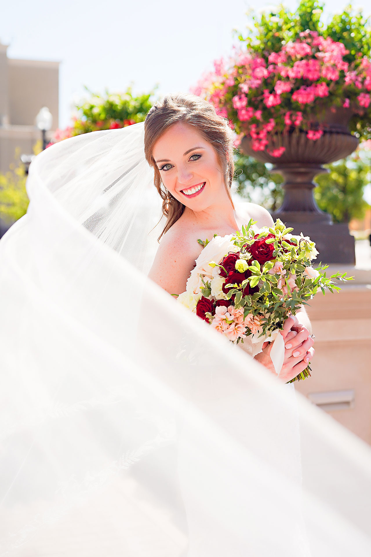 Callie Josh Ritz Charles Garden Pavilion Carmel Indiana Wedding 077