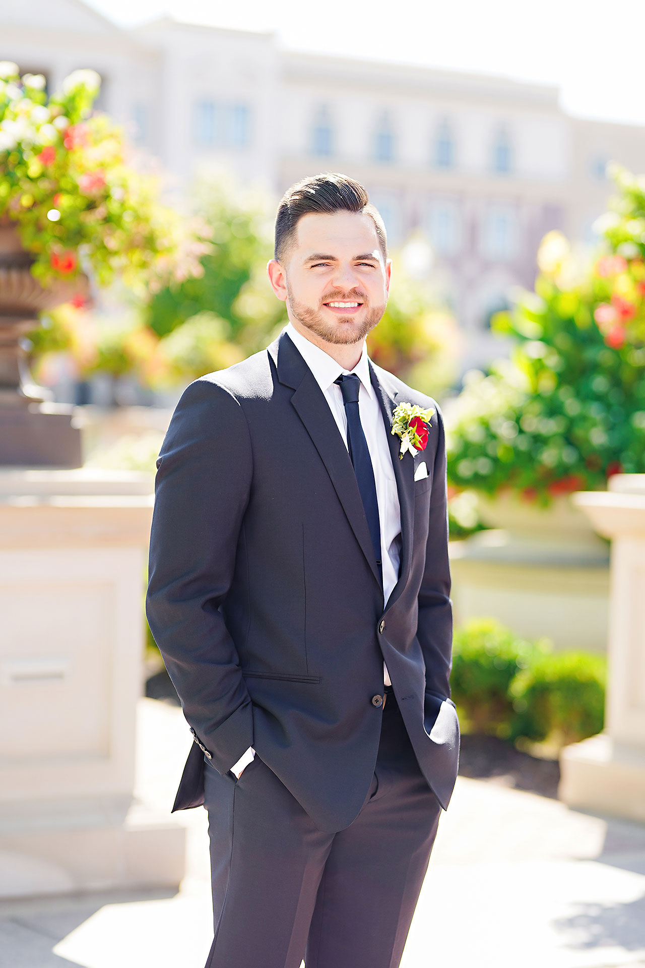 Callie Josh Ritz Charles Garden Pavilion Carmel Indiana Wedding 064
