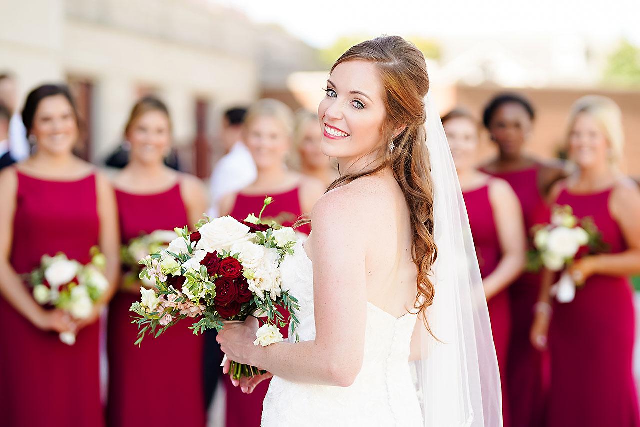 Callie Josh Ritz Charles Garden Pavilion Carmel Indiana Wedding 050