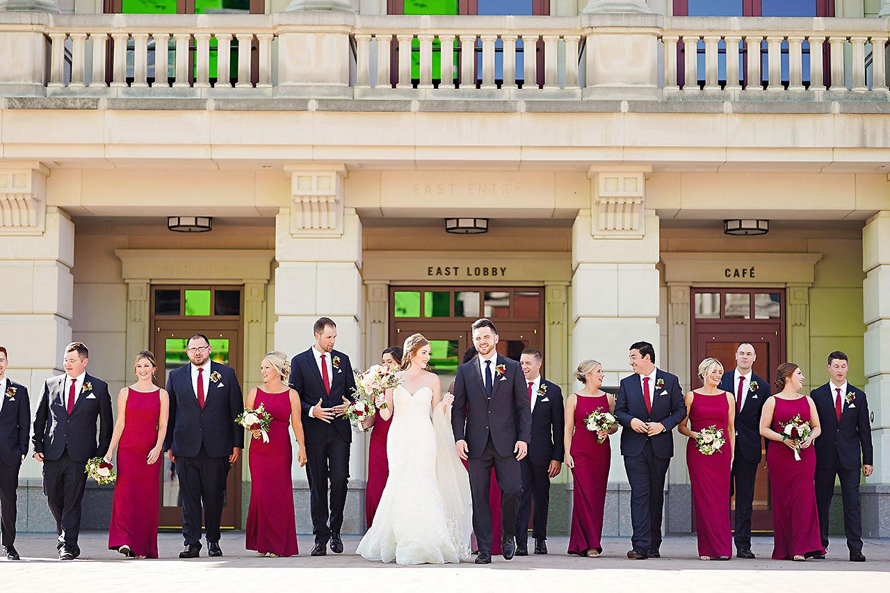 Callie Josh Ritz Charles Garden Pavilion Carmel Indiana Wedding 051