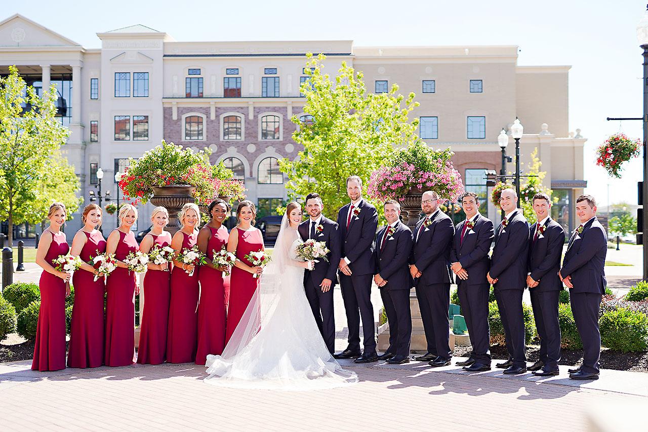 Callie Josh Ritz Charles Garden Pavilion Carmel Indiana Wedding 049