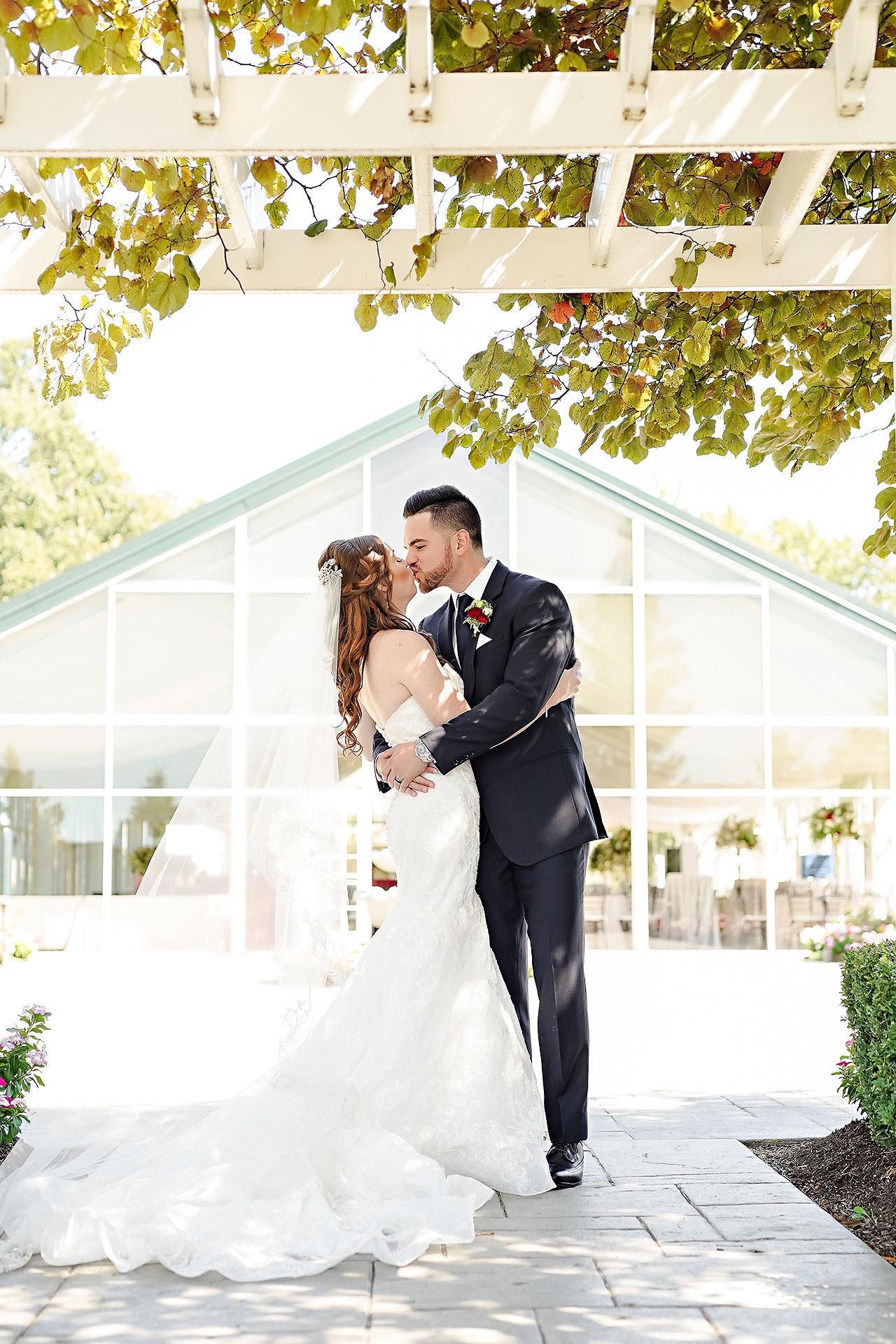 Callie Josh Ritz Charles Garden Pavilion Carmel Indiana Wedding 046