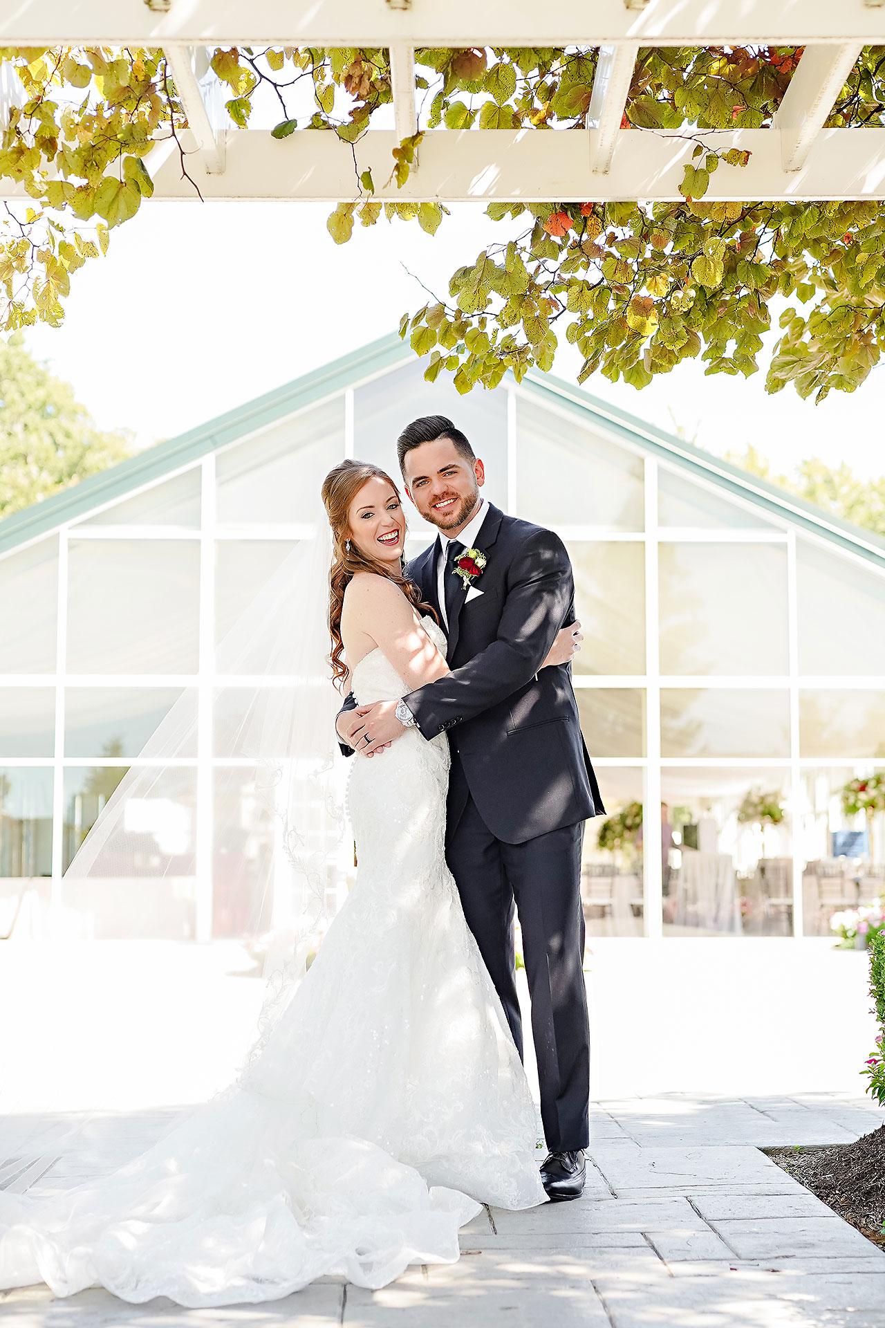 Callie Josh Ritz Charles Garden Pavilion Carmel Indiana Wedding 047