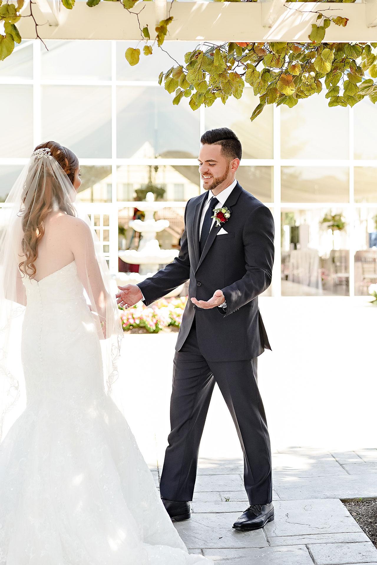 Callie Josh Ritz Charles Garden Pavilion Carmel Indiana Wedding 045