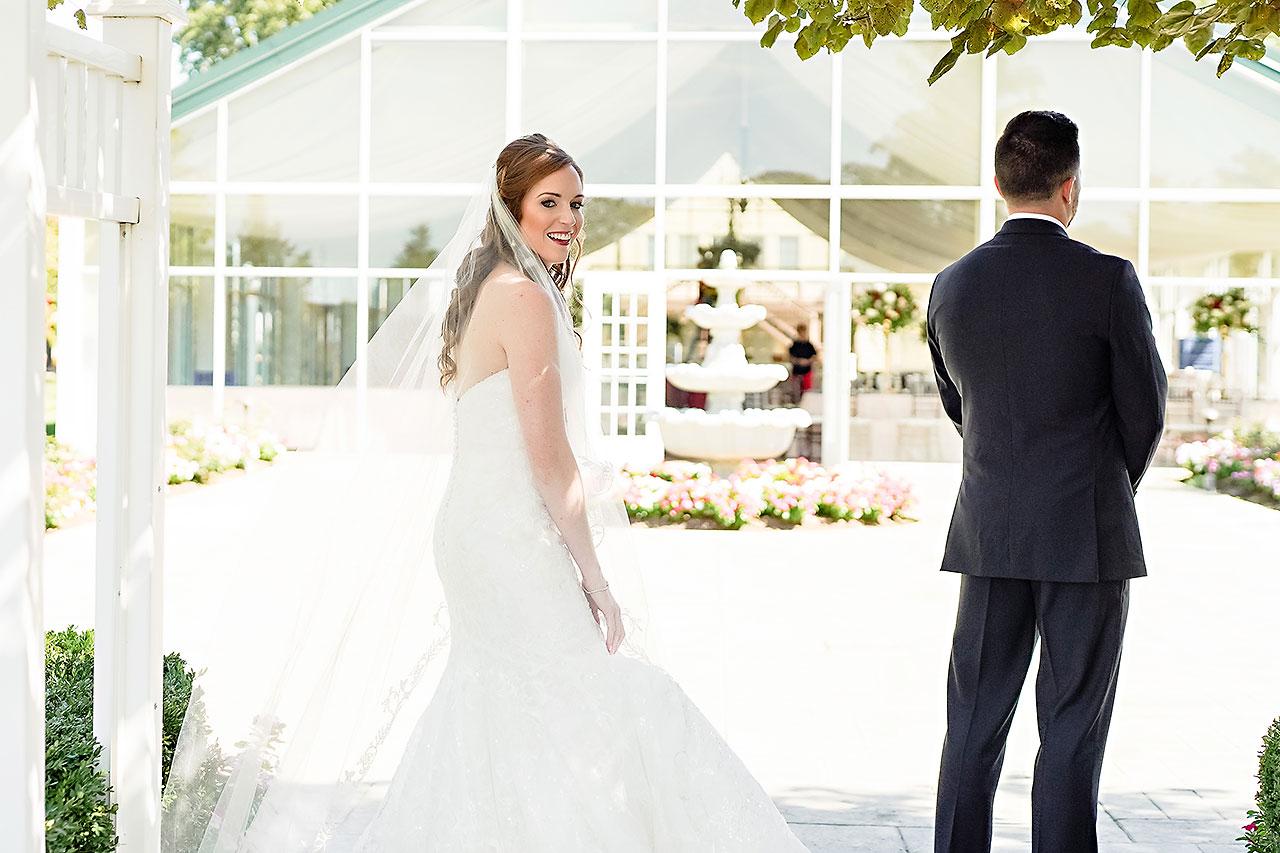 Callie Josh Ritz Charles Garden Pavilion Carmel Indiana Wedding 042