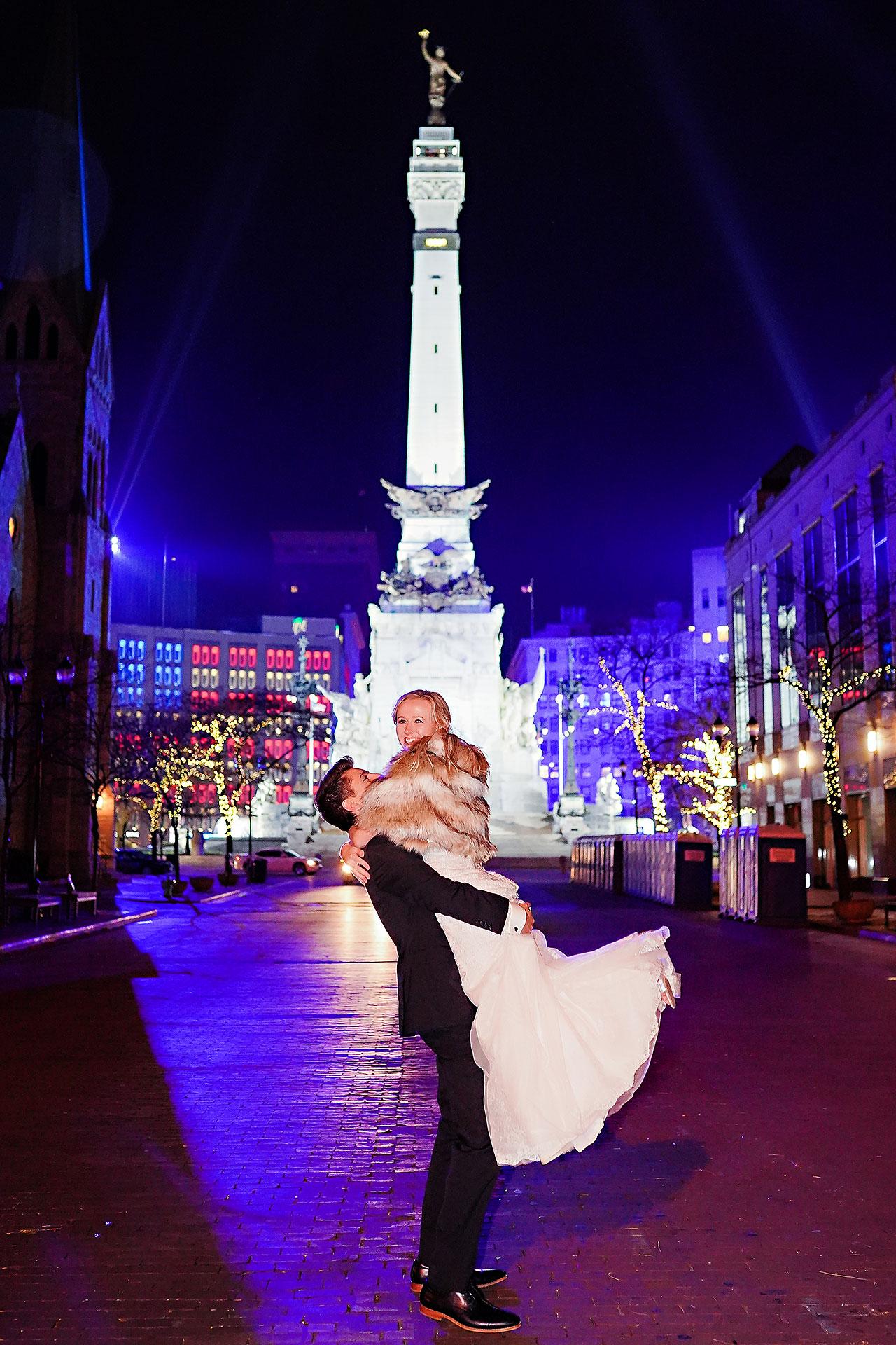 Courtney Areyan Sacred Heart and DAmore Indianapolis Wedding 389