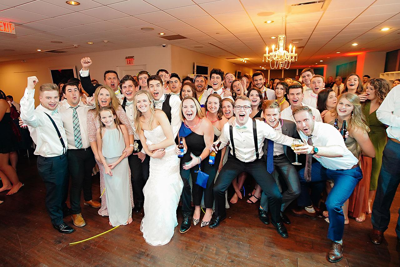 Courtney Areyan Sacred Heart and DAmore Indianapolis Wedding 374