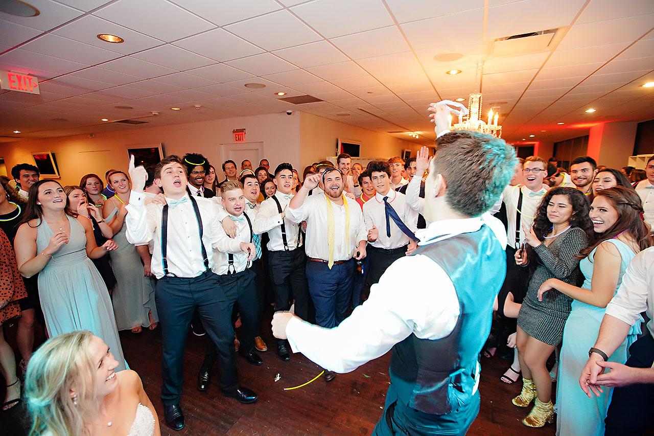 Courtney Areyan Sacred Heart and DAmore Indianapolis Wedding 371