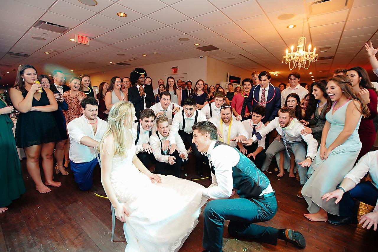 Courtney Areyan Sacred Heart and DAmore Indianapolis Wedding 369
