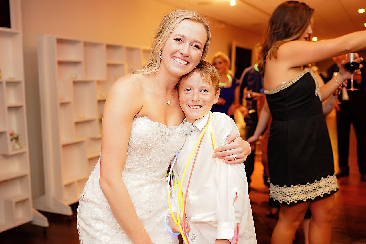 Courtney Areyan Sacred Heart and DAmore Indianapolis Wedding 364