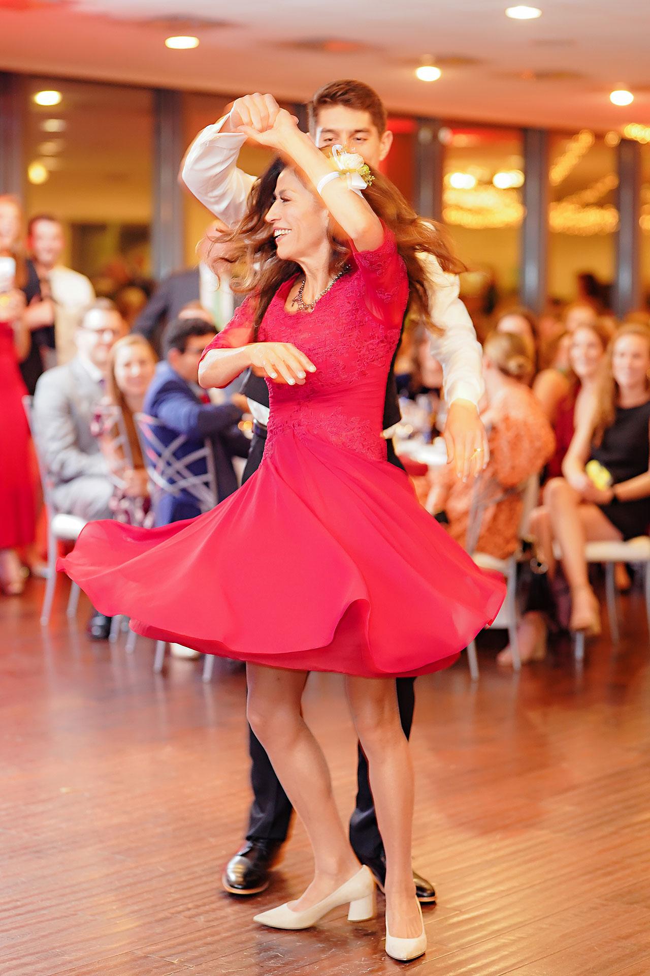Courtney Areyan Sacred Heart and DAmore Indianapolis Wedding 306