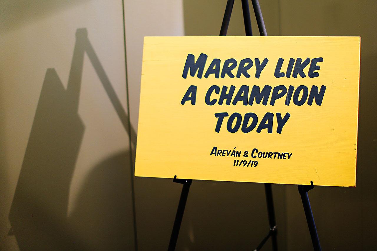 Courtney Areyan Sacred Heart and DAmore Indianapolis Wedding 219