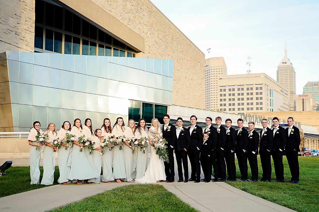 Courtney Areyan Sacred Heart and DAmore Indianapolis Wedding 148