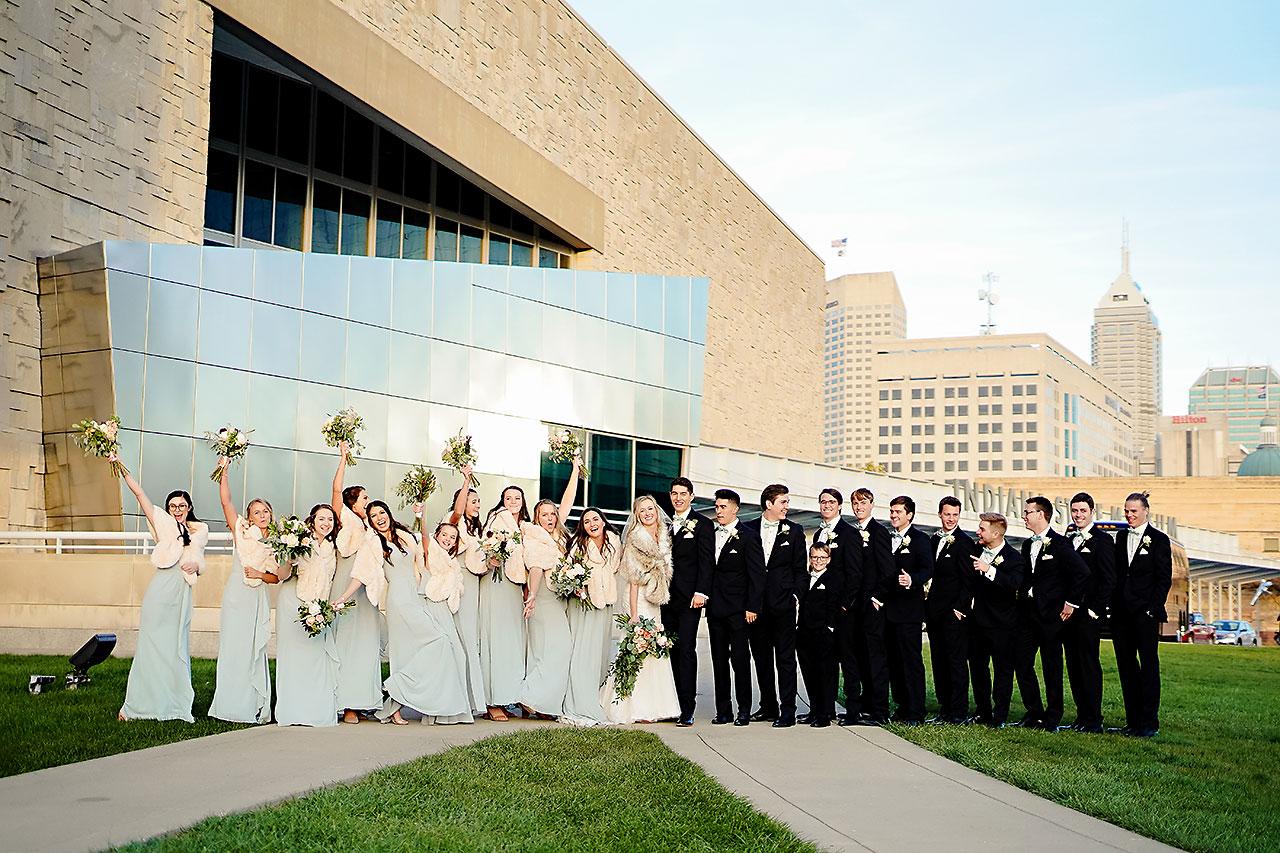 Courtney Areyan Sacred Heart and DAmore Indianapolis Wedding 127