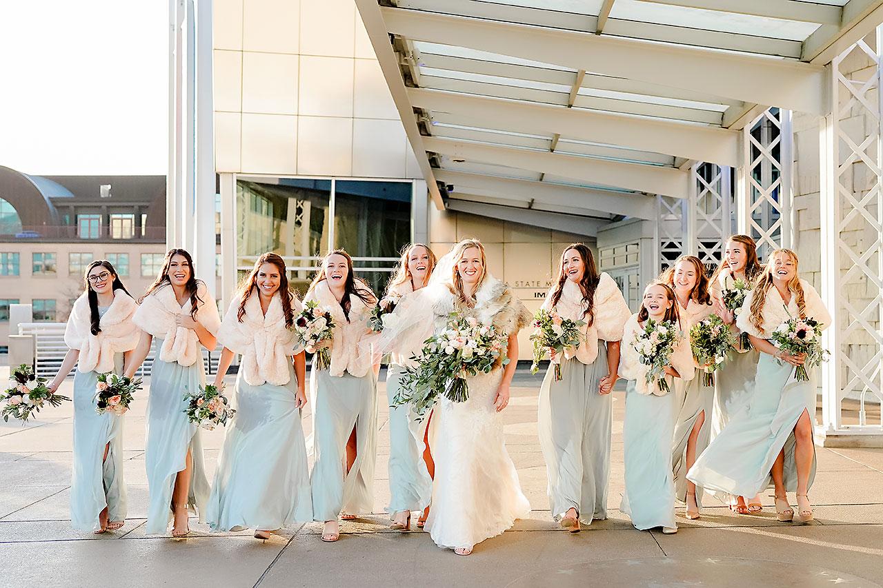 Courtney Areyan Sacred Heart and DAmore Indianapolis Wedding 125