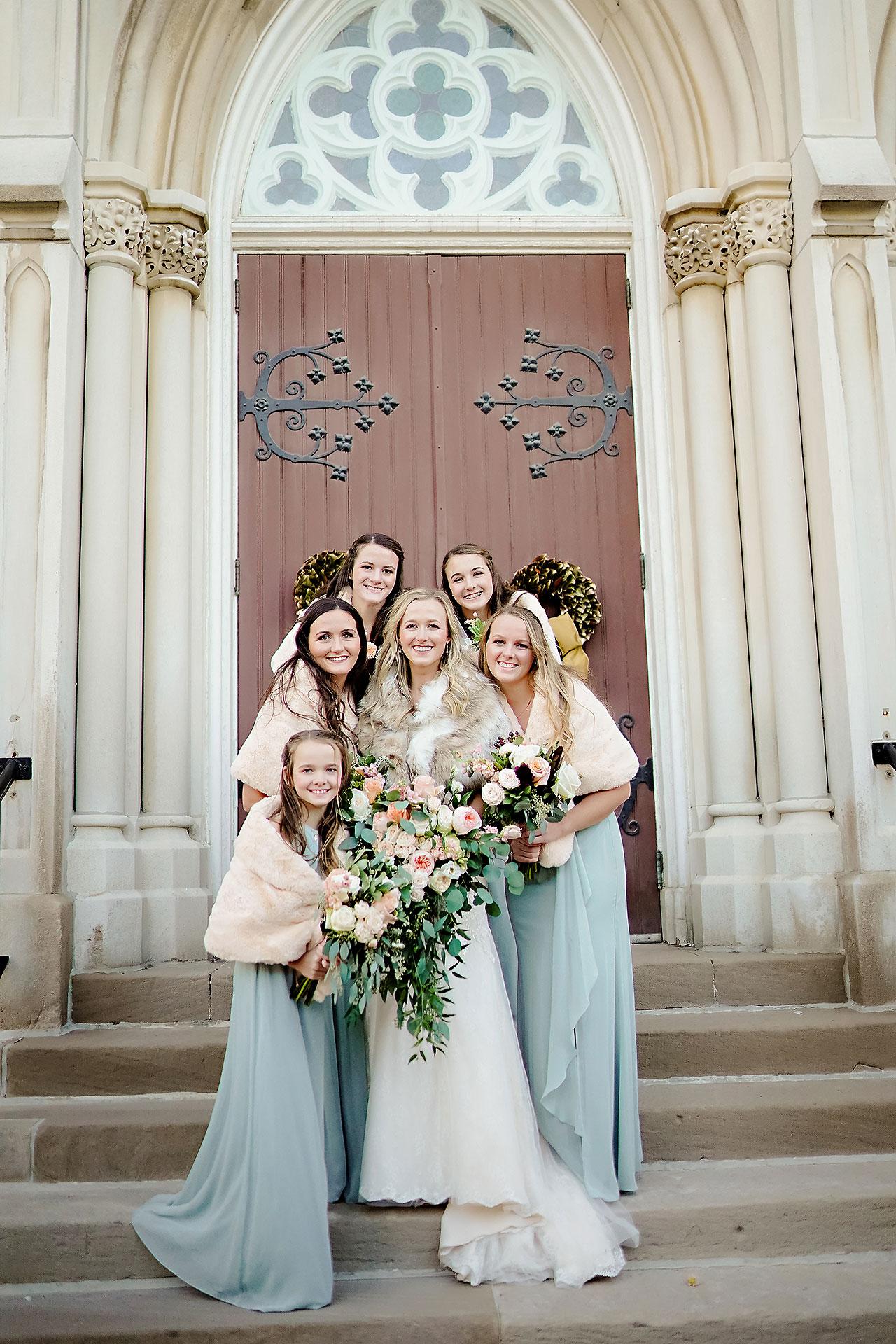 Courtney Areyan Sacred Heart and DAmore Indianapolis Wedding 122