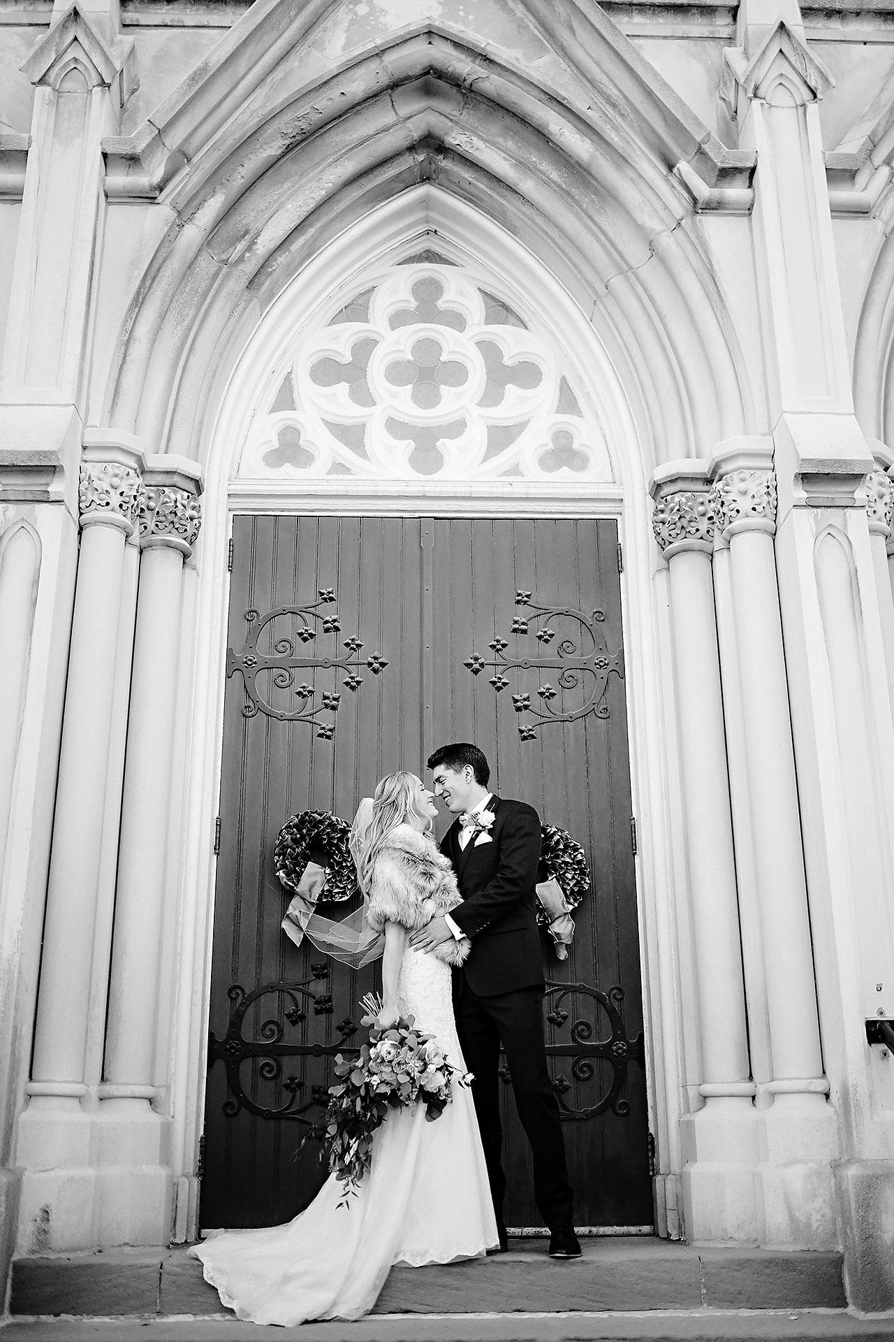 Courtney Areyan Sacred Heart and DAmore Indianapolis Wedding 119