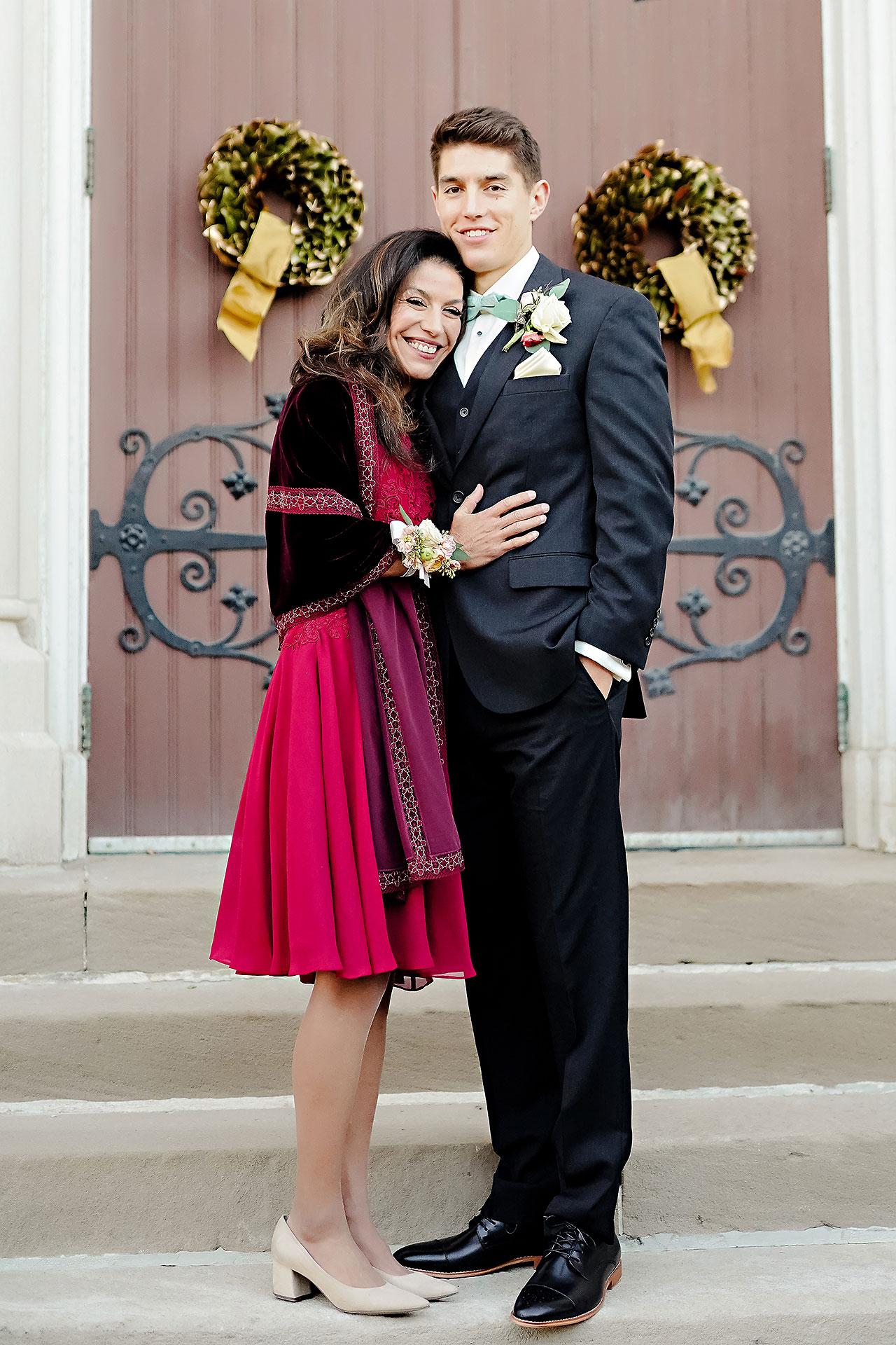 Courtney Areyan Sacred Heart and DAmore Indianapolis Wedding 120