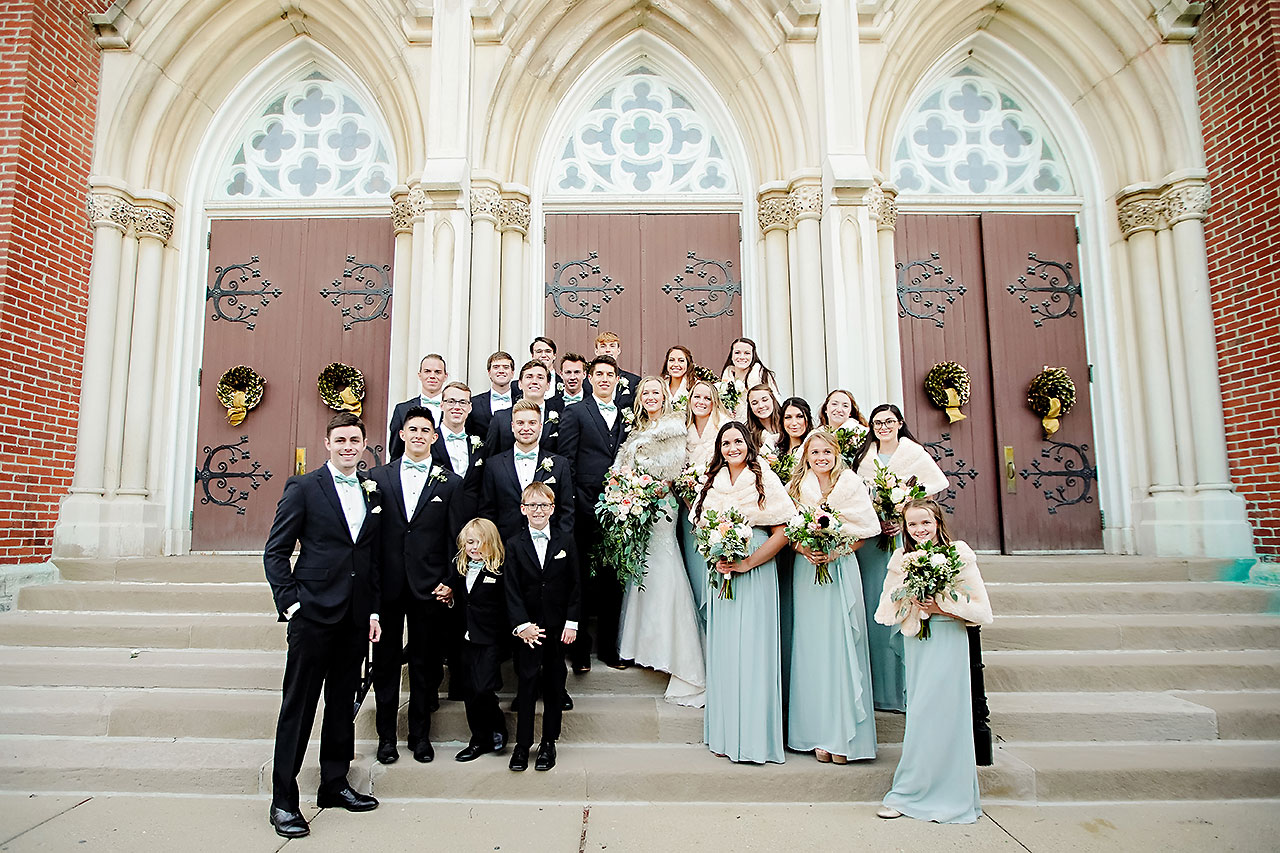 Courtney Areyan Sacred Heart and DAmore Indianapolis Wedding 117