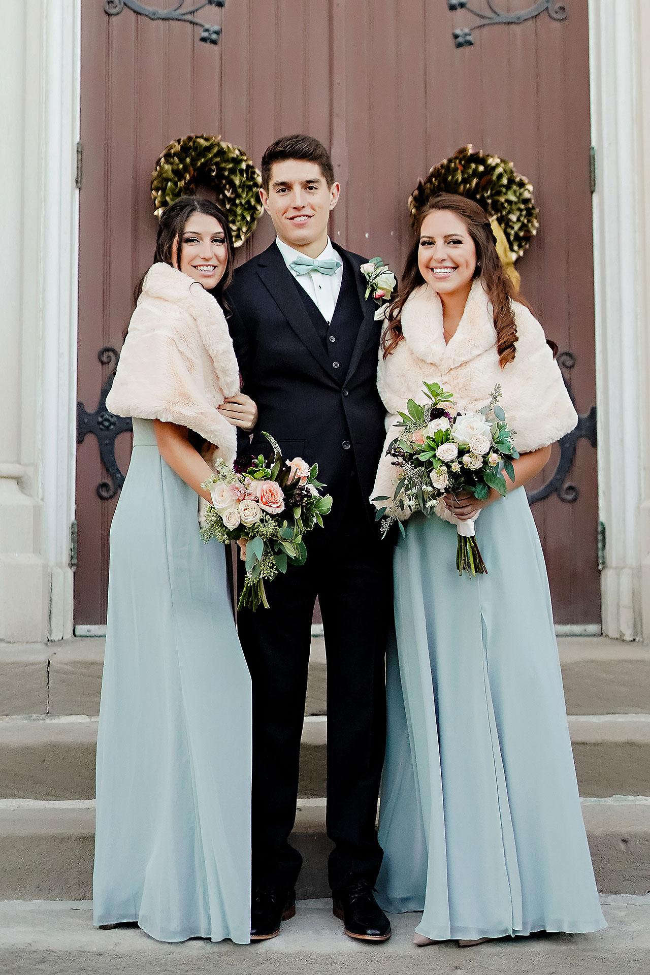 Courtney Areyan Sacred Heart and DAmore Indianapolis Wedding 118