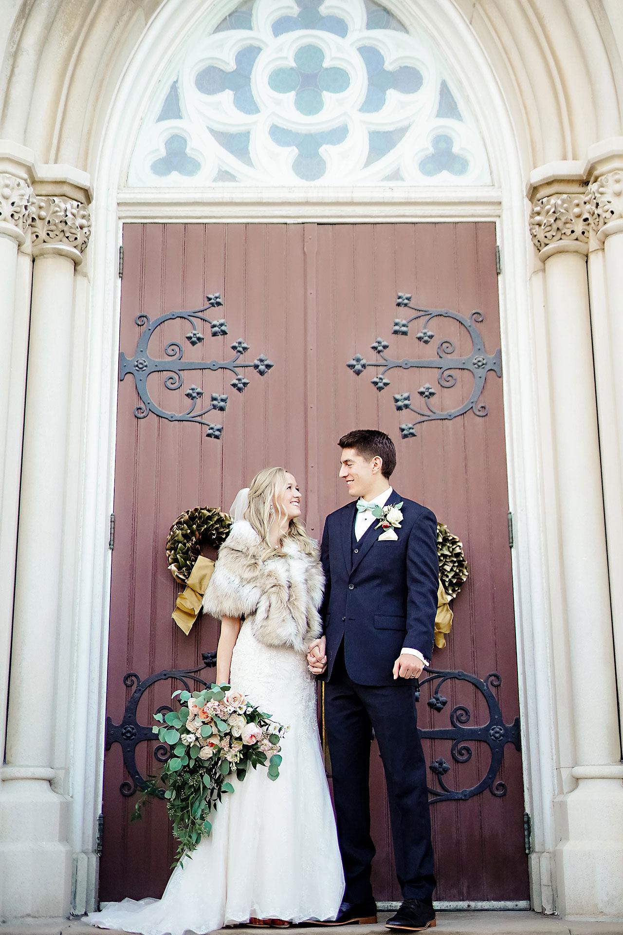 Courtney Areyan Sacred Heart and DAmore Indianapolis Wedding 113
