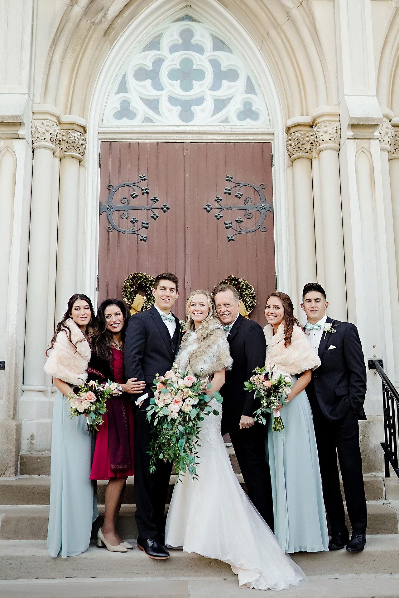Courtney Areyan Sacred Heart and DAmore Indianapolis Wedding 109