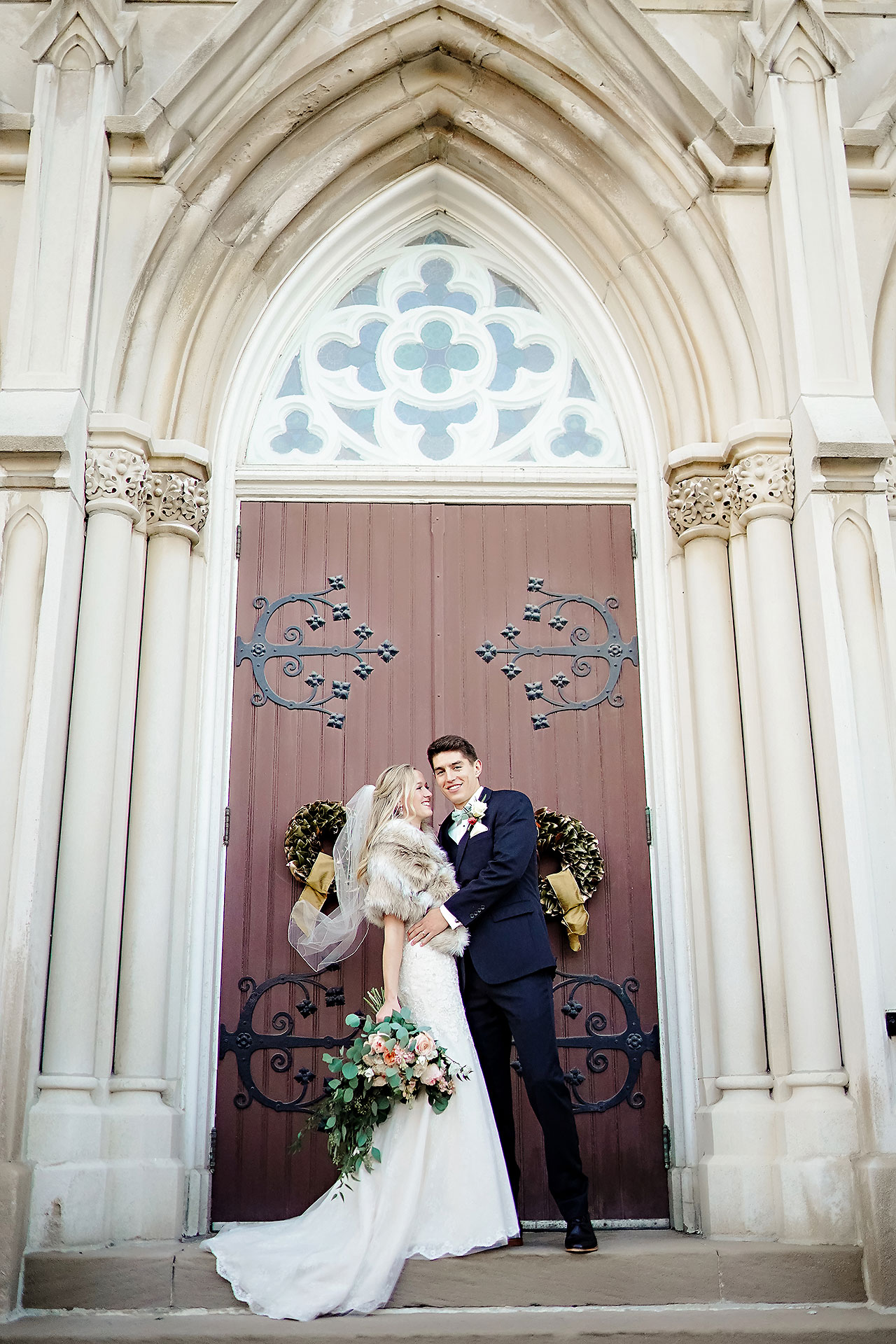 Courtney Areyan Sacred Heart and DAmore Indianapolis Wedding 107