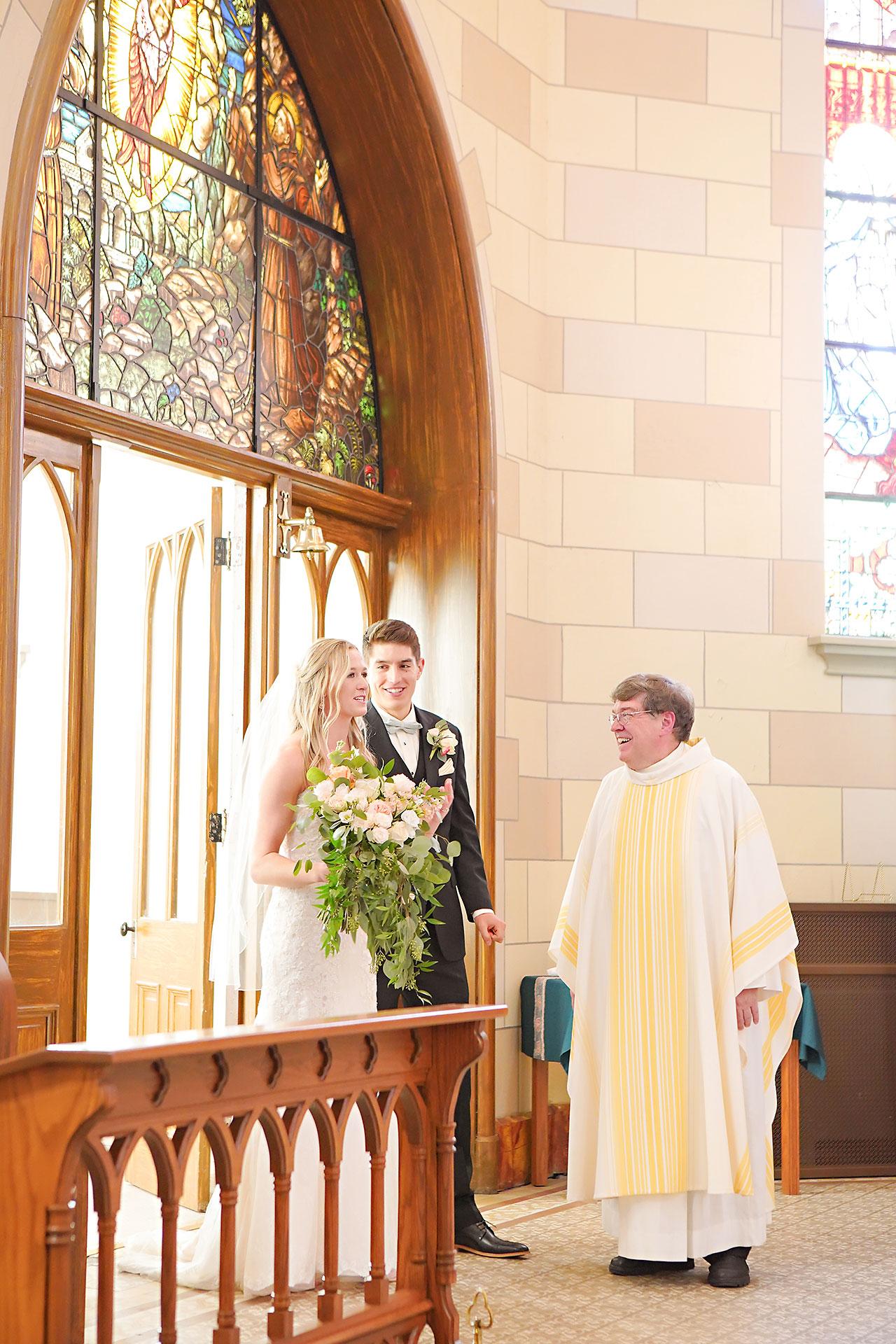 Courtney Areyan Sacred Heart and DAmore Indianapolis Wedding 105