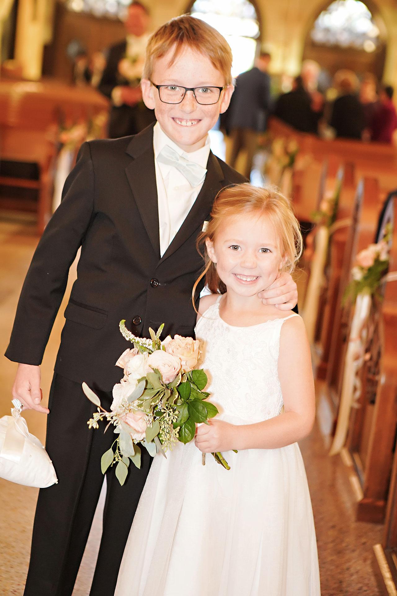 Courtney Areyan Sacred Heart and DAmore Indianapolis Wedding 106