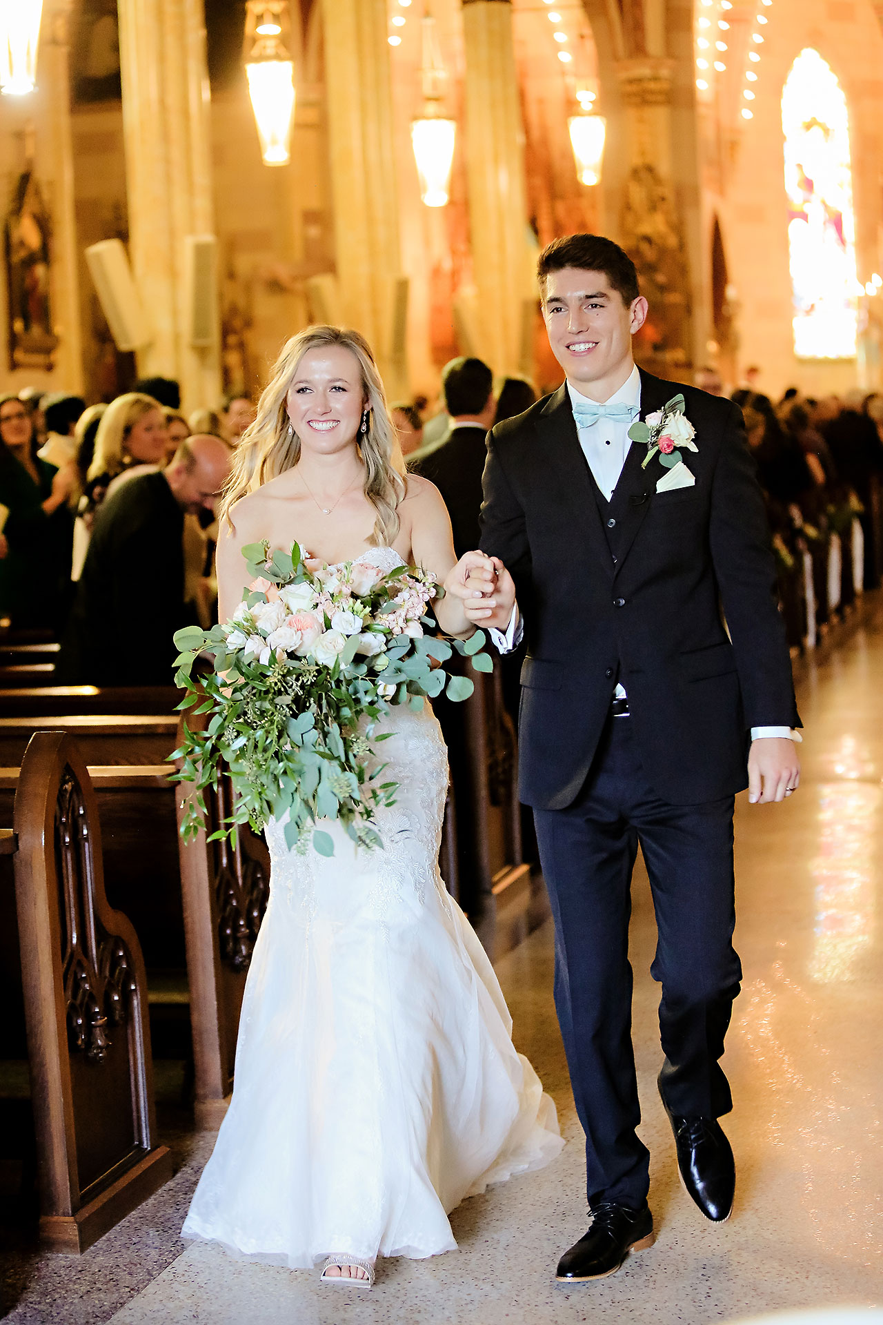 Courtney Areyan Sacred Heart and DAmore Indianapolis Wedding 103