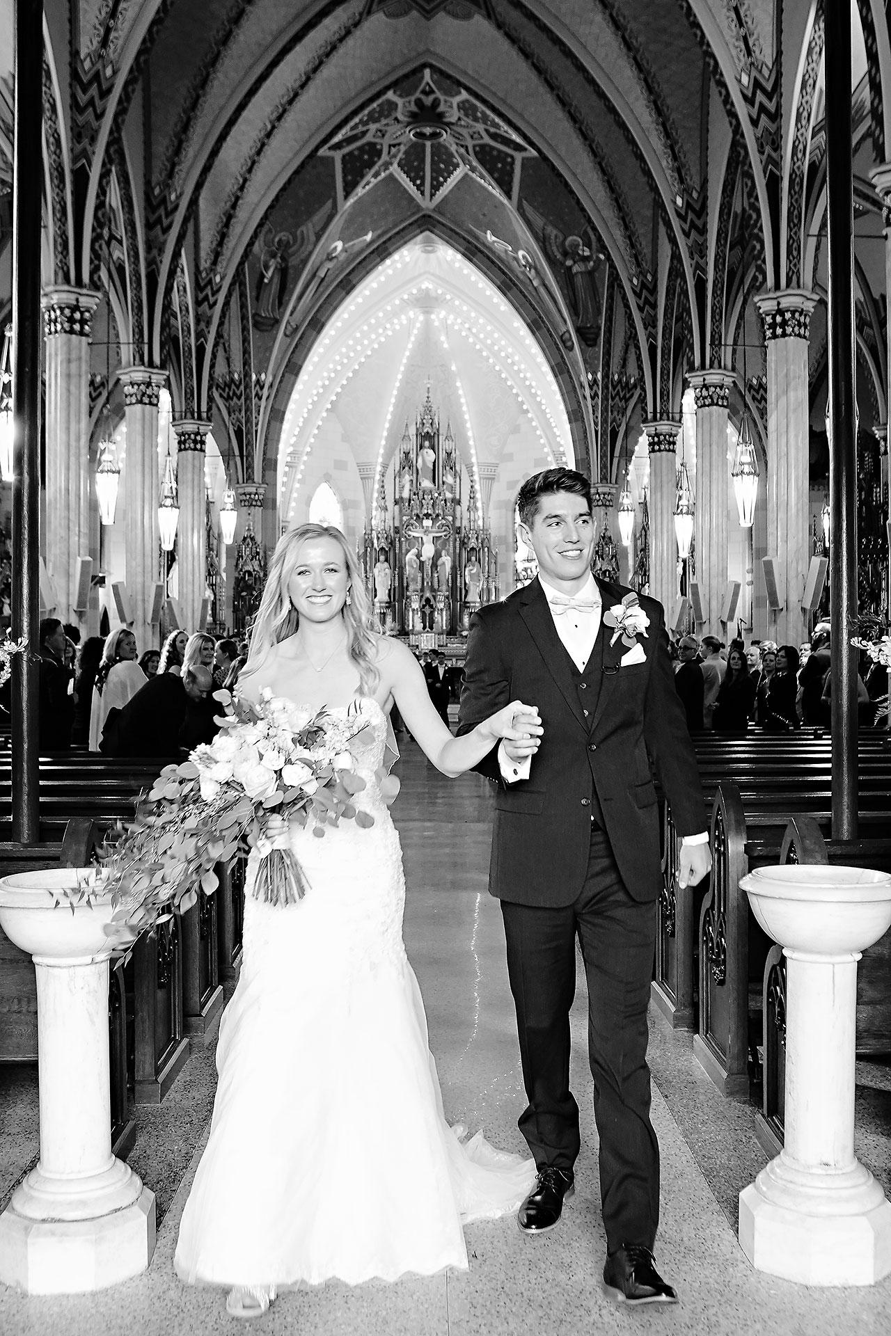 Courtney Areyan Sacred Heart and DAmore Indianapolis Wedding 104